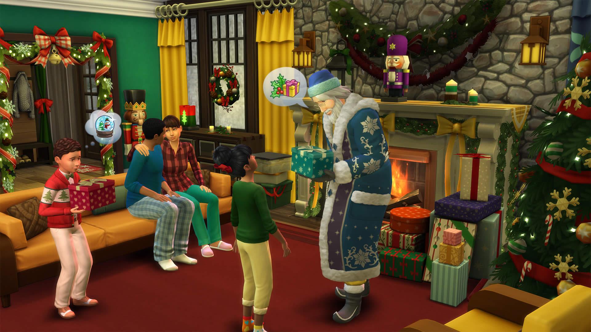 Скриншот №7 к The Sims 4 Времена года