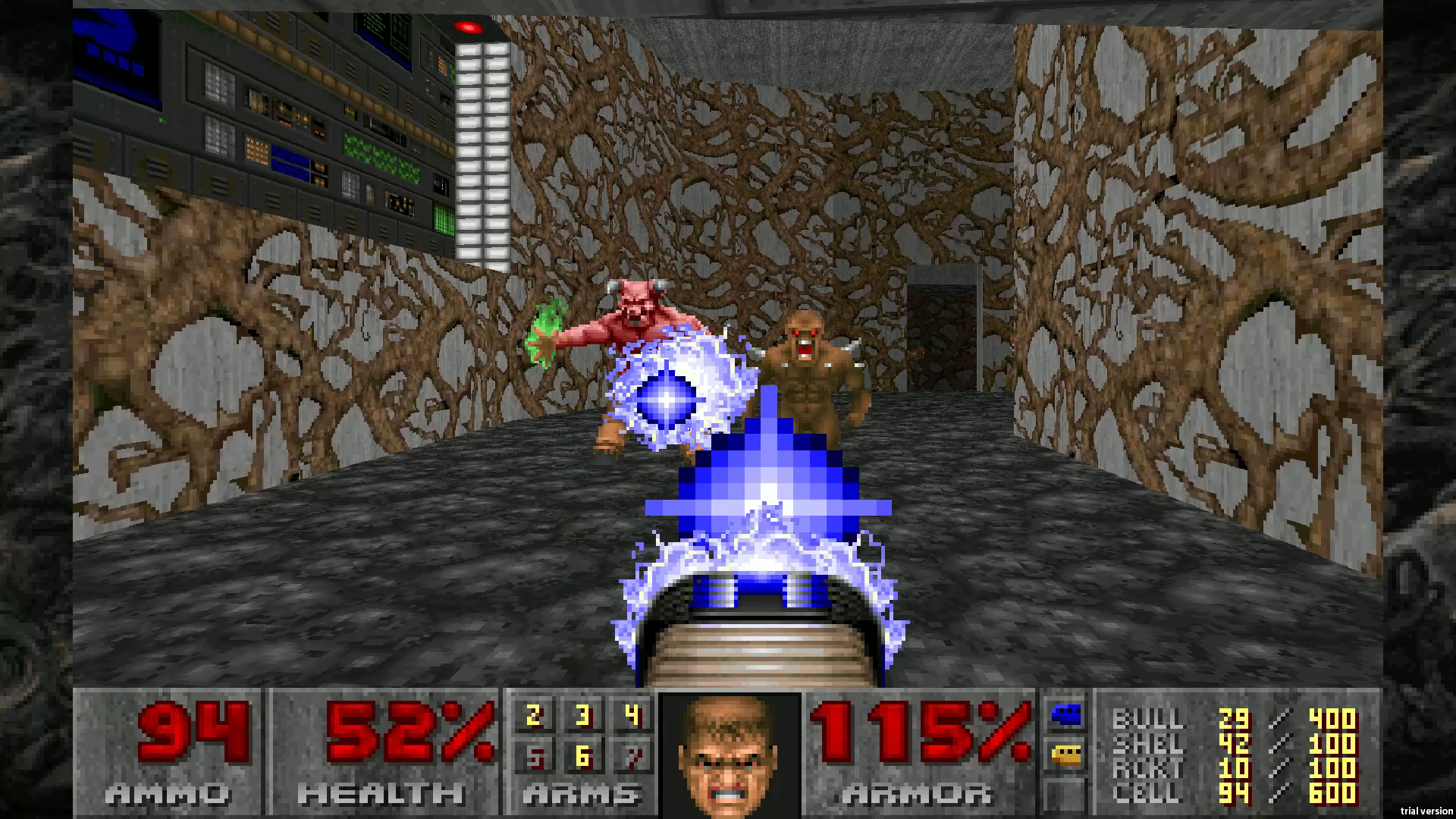 Скриншот №1 к DOOM 1993