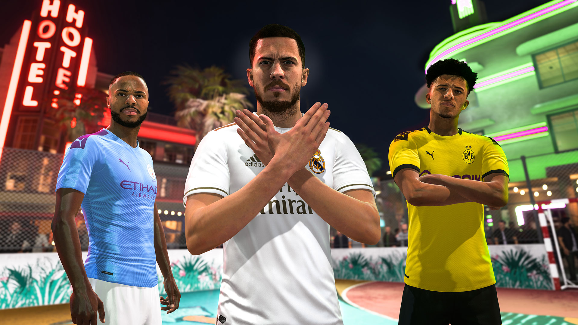 Banner do game Fifa 20  para PS4