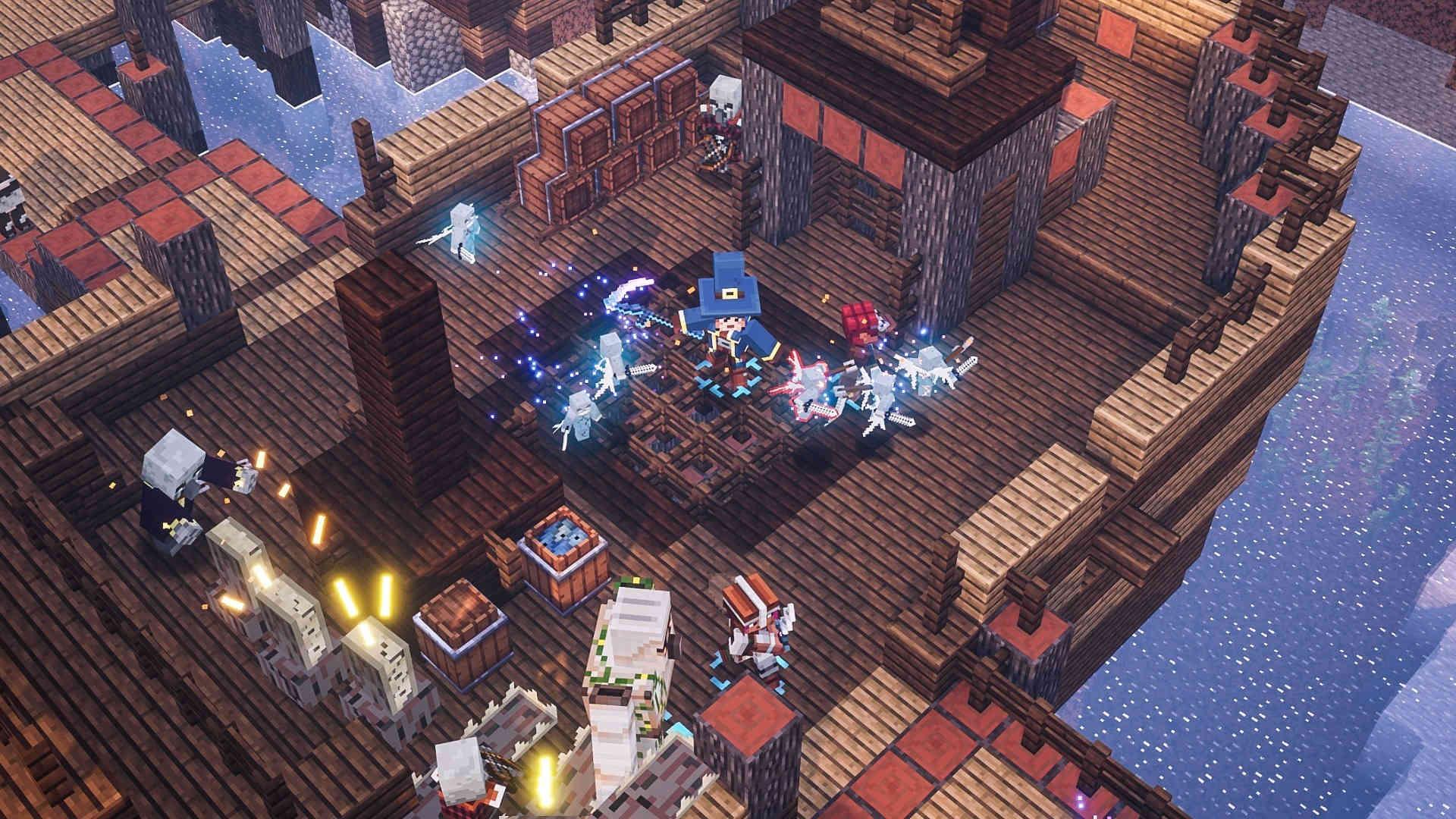 Скриншот №2 к Minecraft Dungeons героическое издание