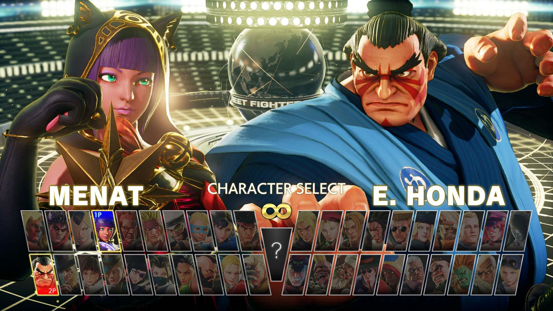 street fighter v characters