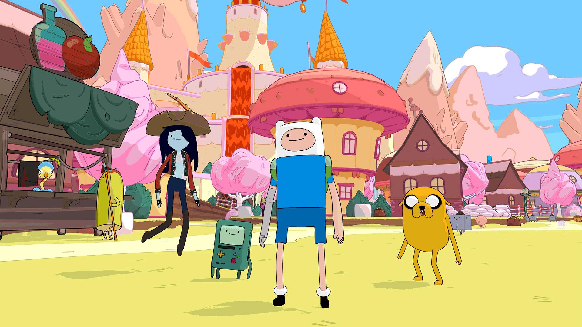 Скриншот №6 к Ben 10 and Adventure Time