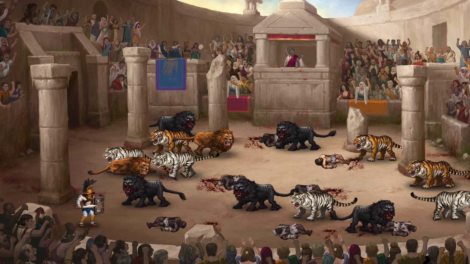 Скриншот №5 к Story of a Gladiator
