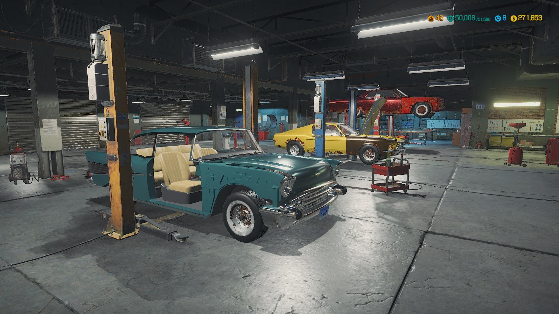 Скриншот №1 к Car Mechanic Simulator