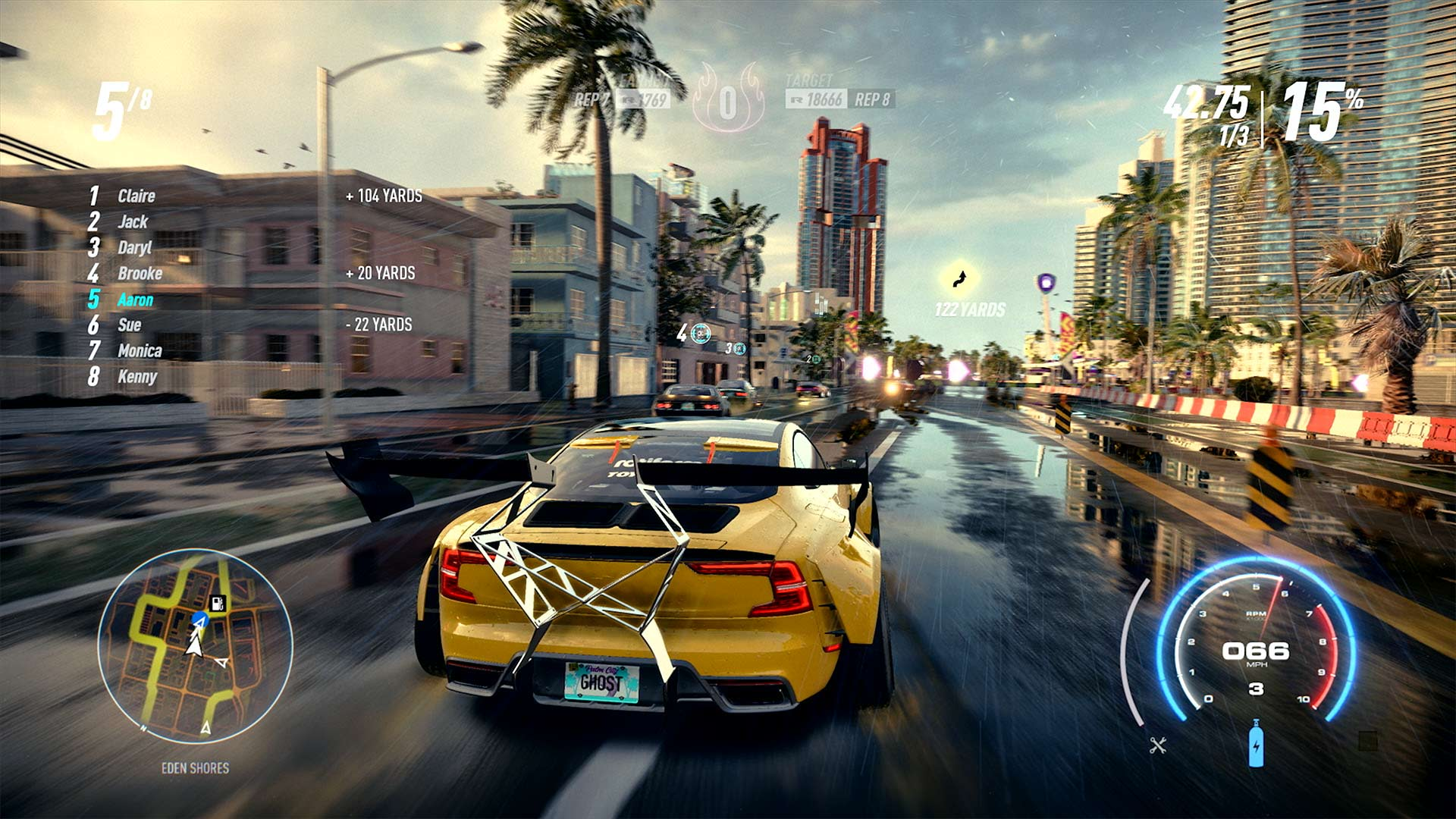 Скриншот №2 к Need for Speed Heat — улучшение до издания Deluxe