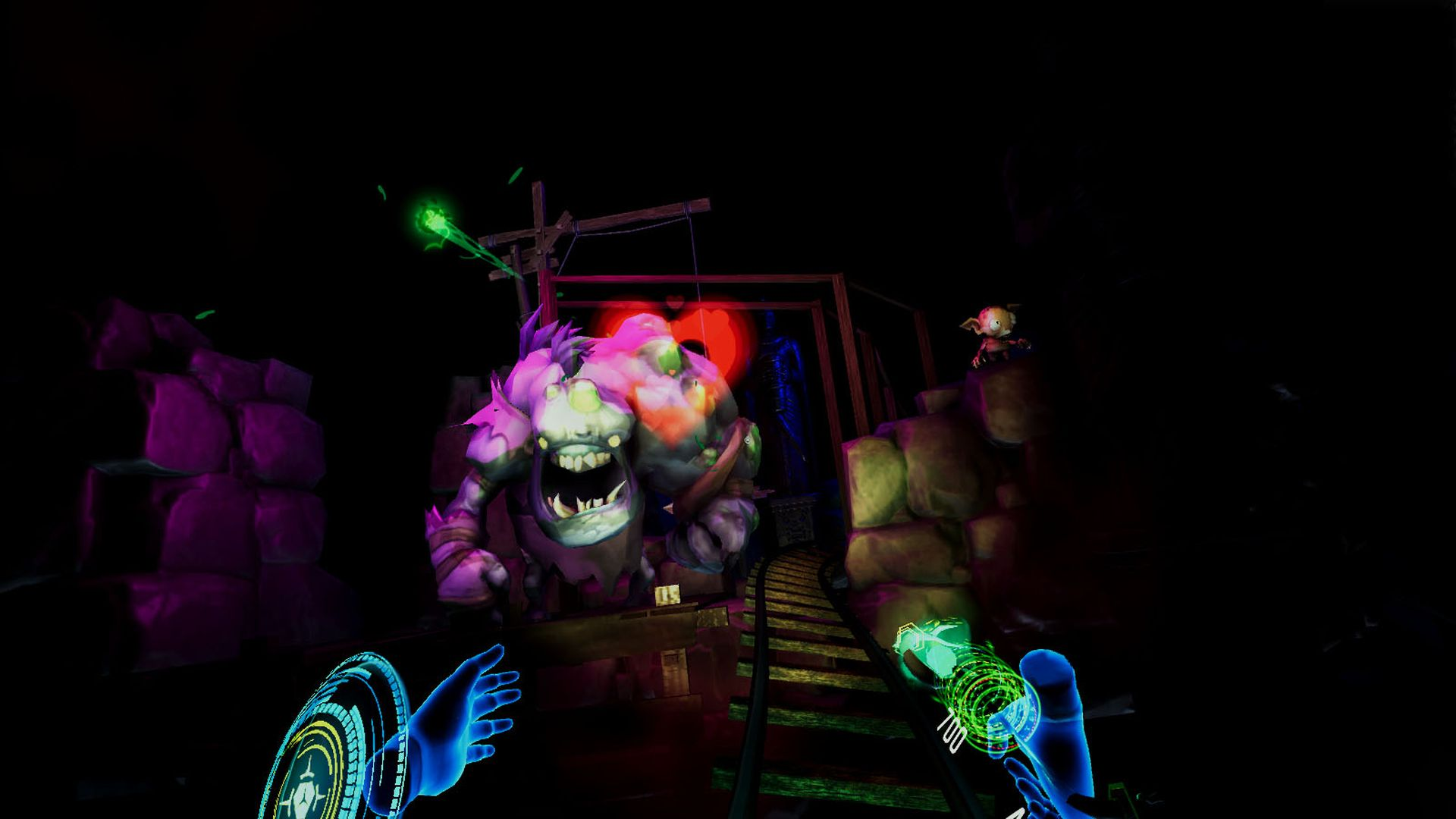 Скриншот №3 к Darkness Rollercoaster - Temple of Speed