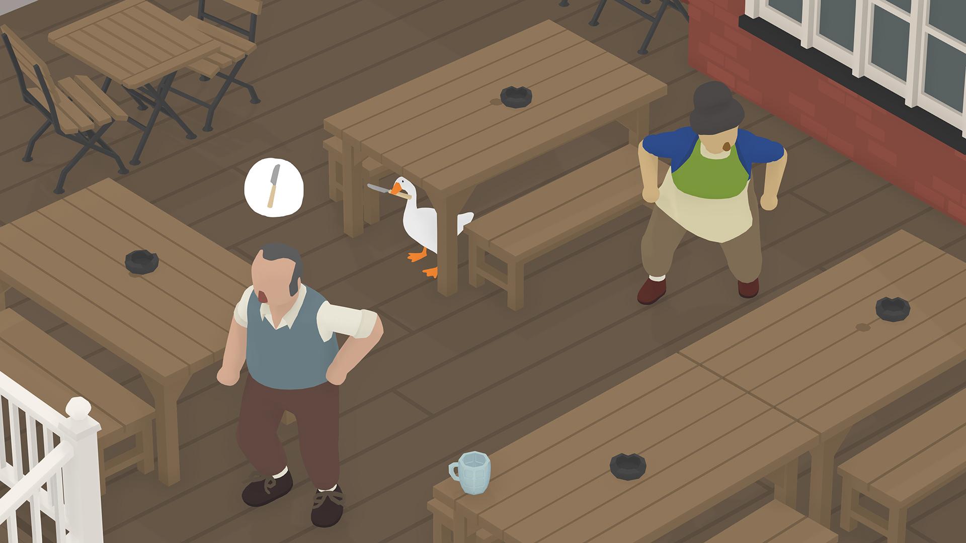 Скриншот №4 к Untitled Goose Game