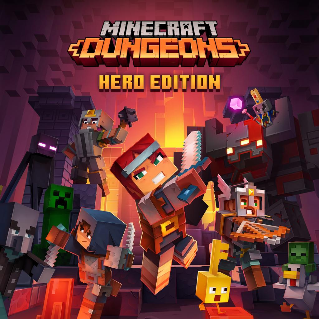Minecraft Dungeons: героическое издание