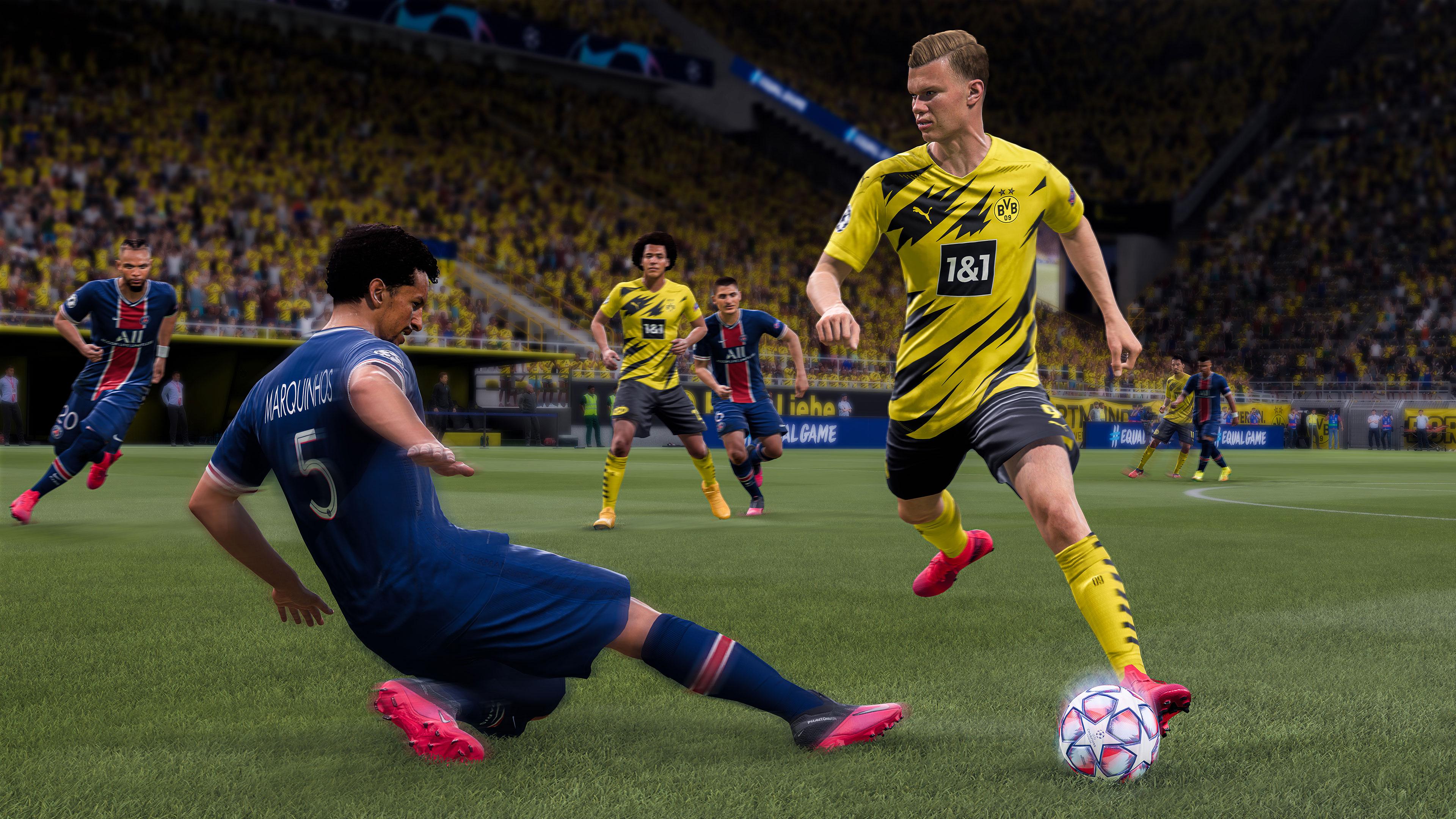 Скриншот №3 к FIFA 21 стандартное издание PS4 and PS5