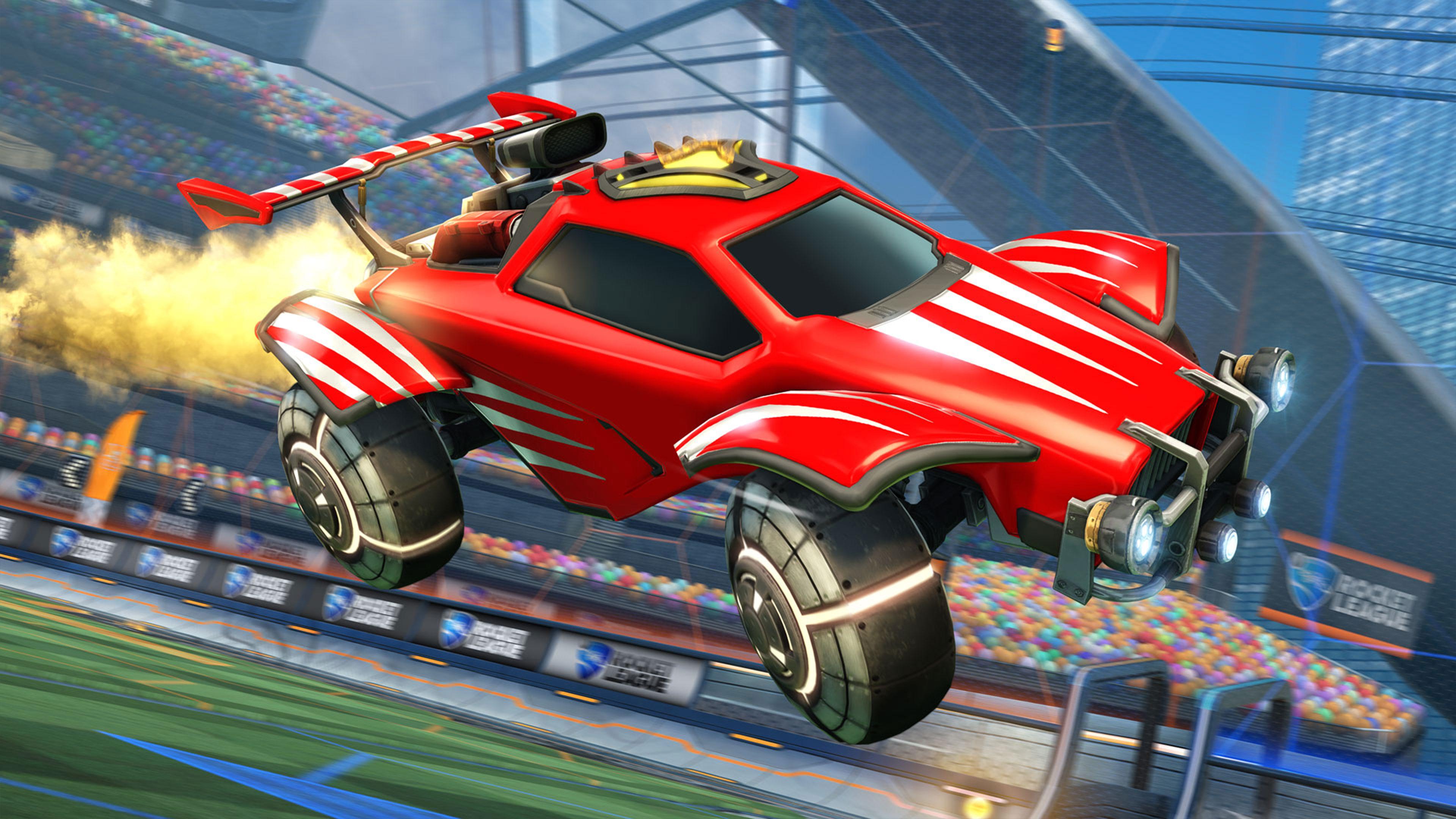Скриншот №1 к Rocket League