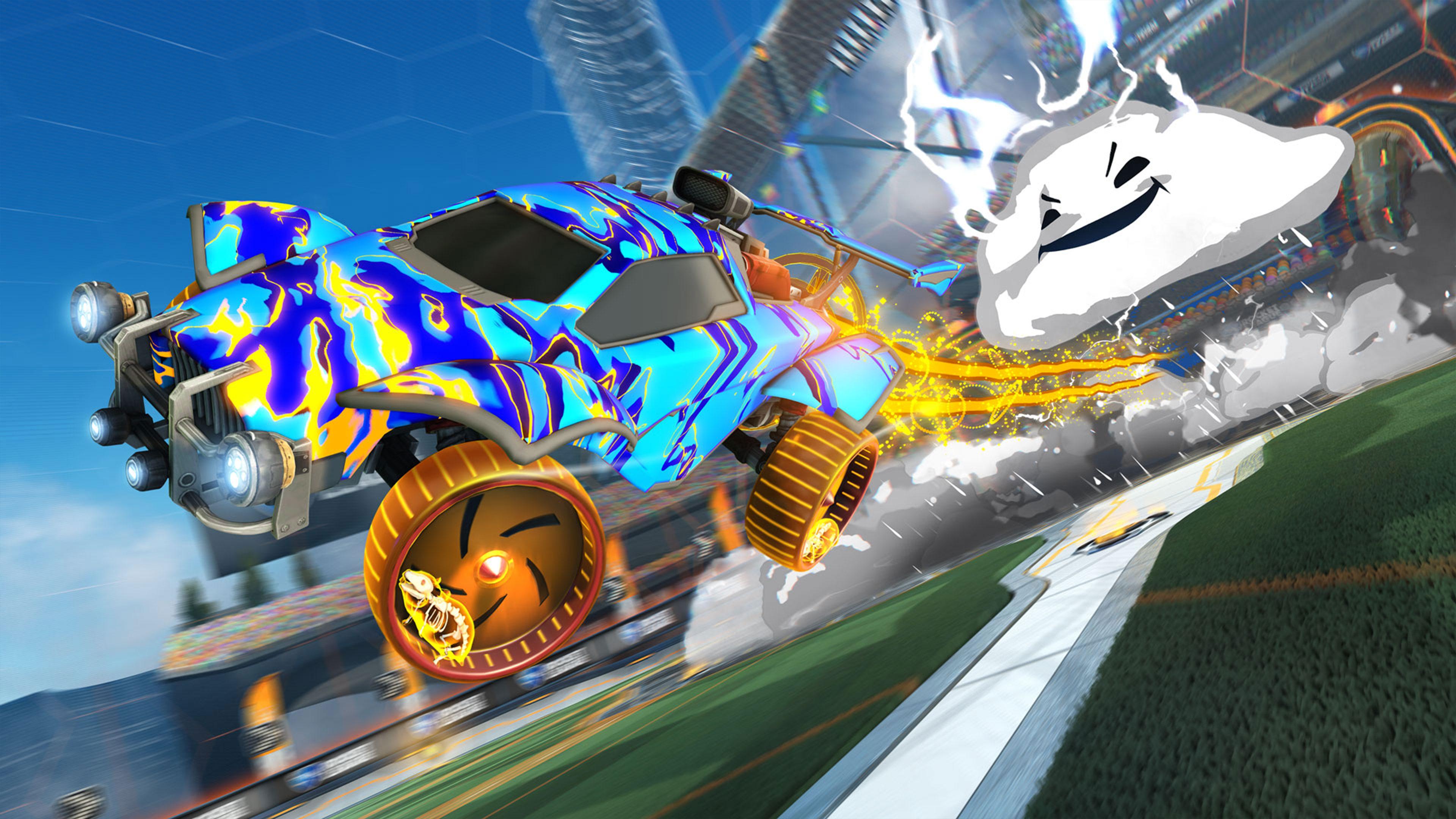 Скриншот №4 к Rocket League