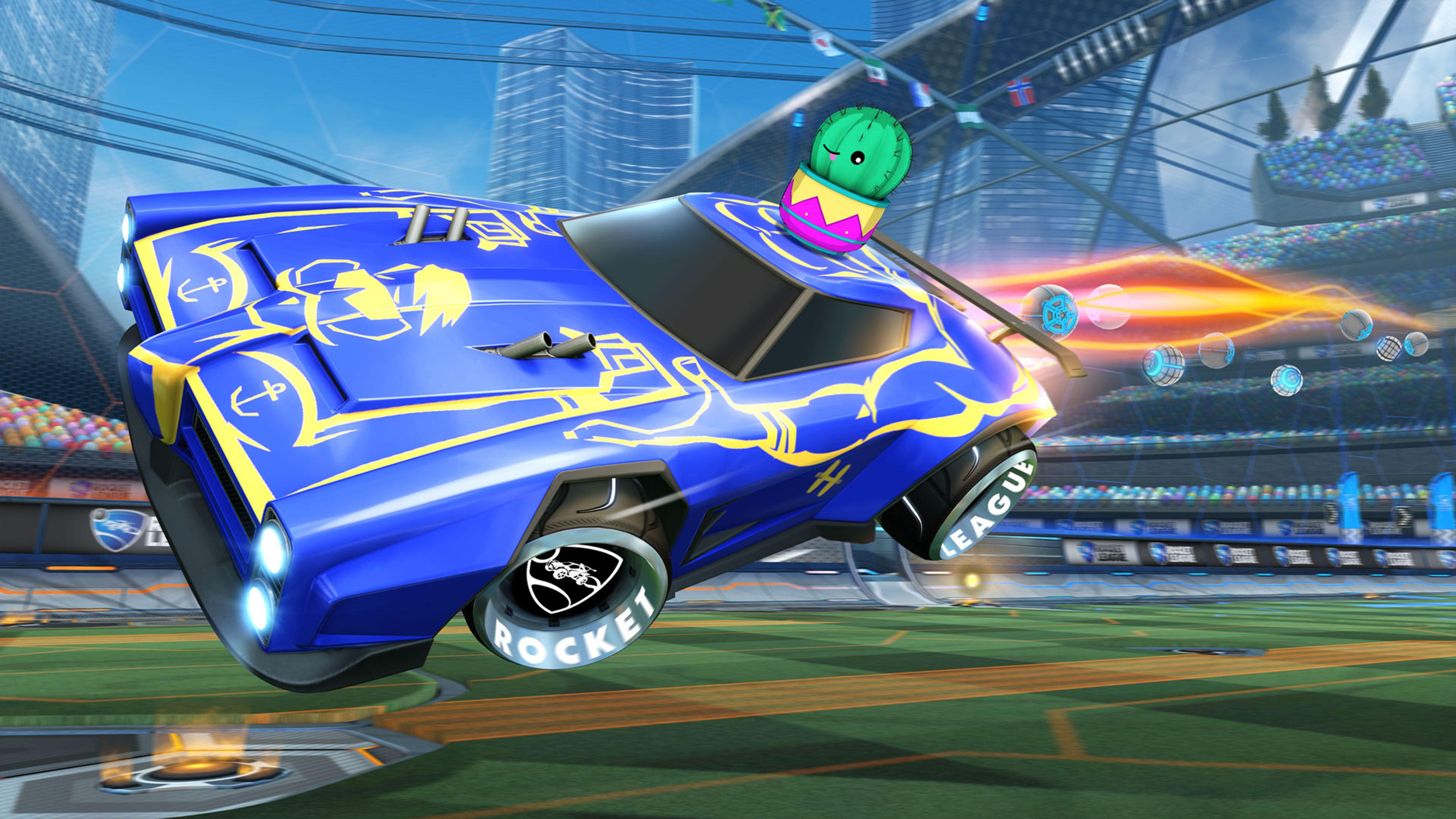 Скриншот №2 к Rocket League