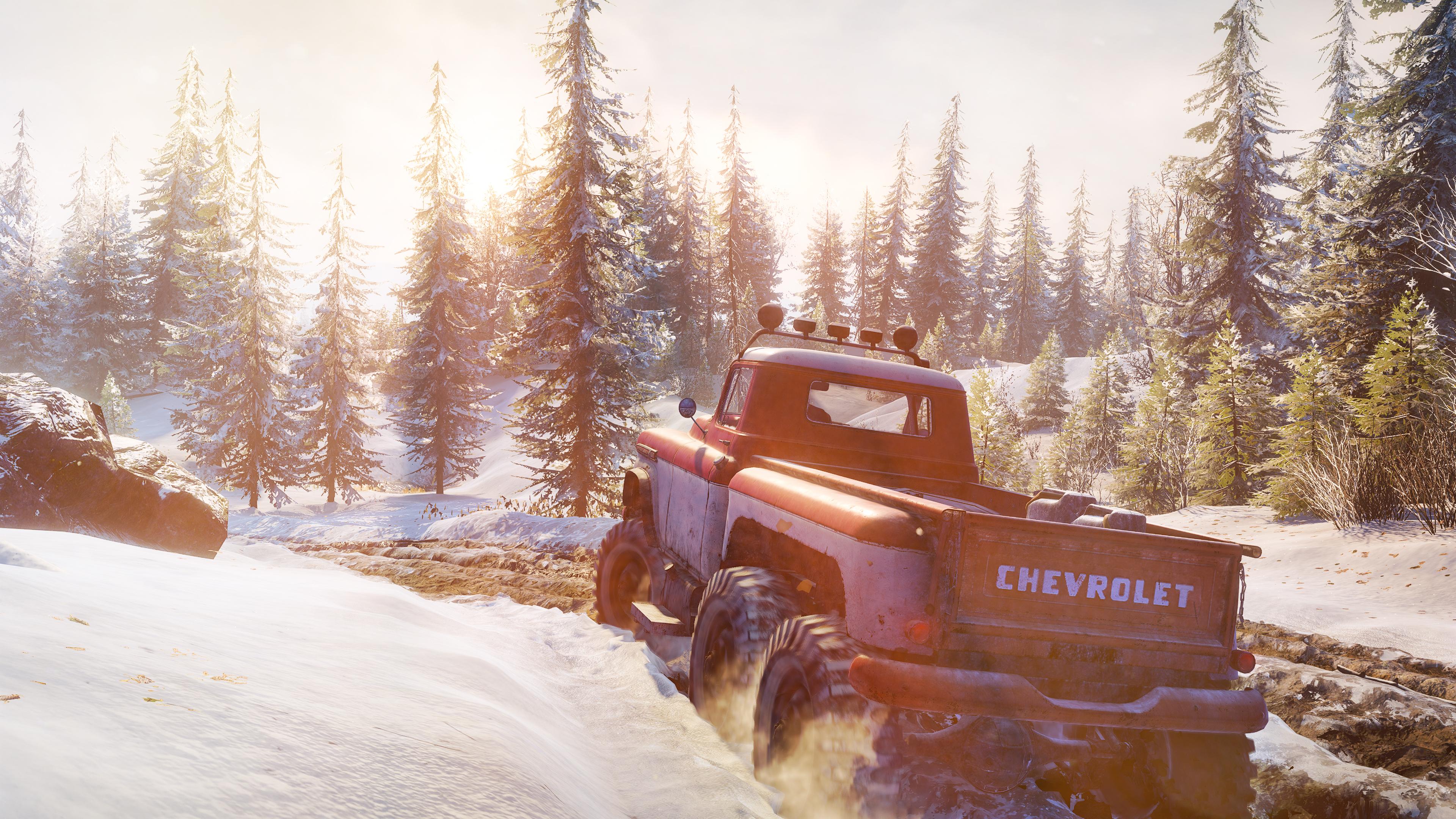 Скриншот №2 к SnowRunner - Clasico Pack