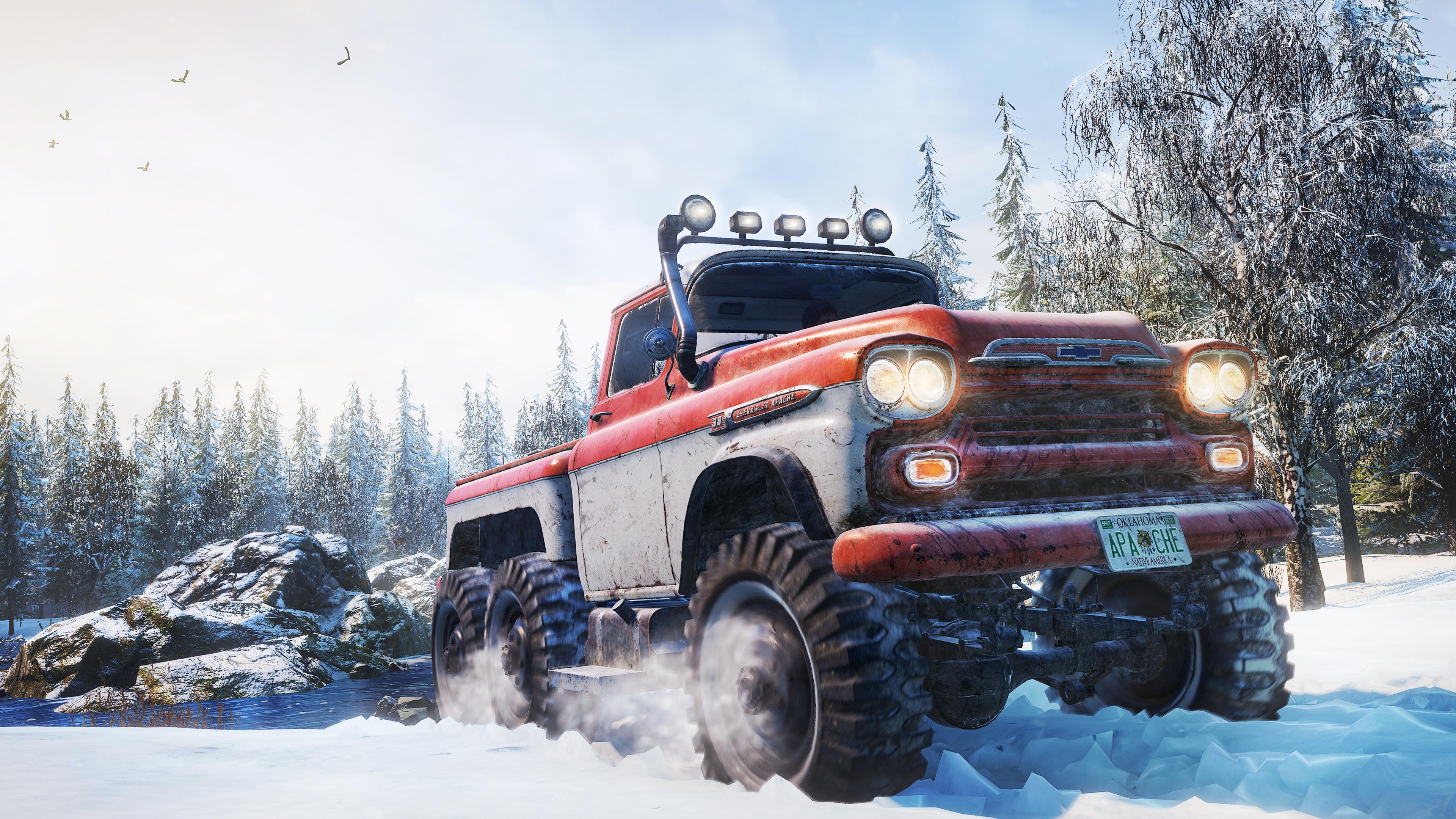 Скриншот №1 к SnowRunner - Clasico Pack