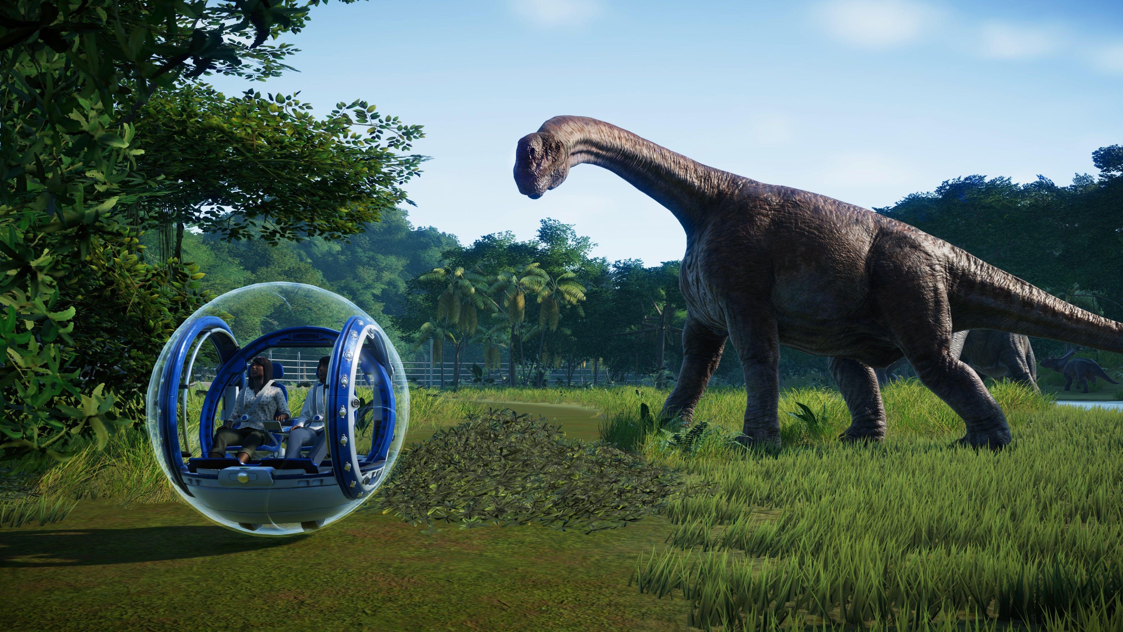 Скриншот №4 к Jurassic World Evolution издание «Парк Юрского периода»