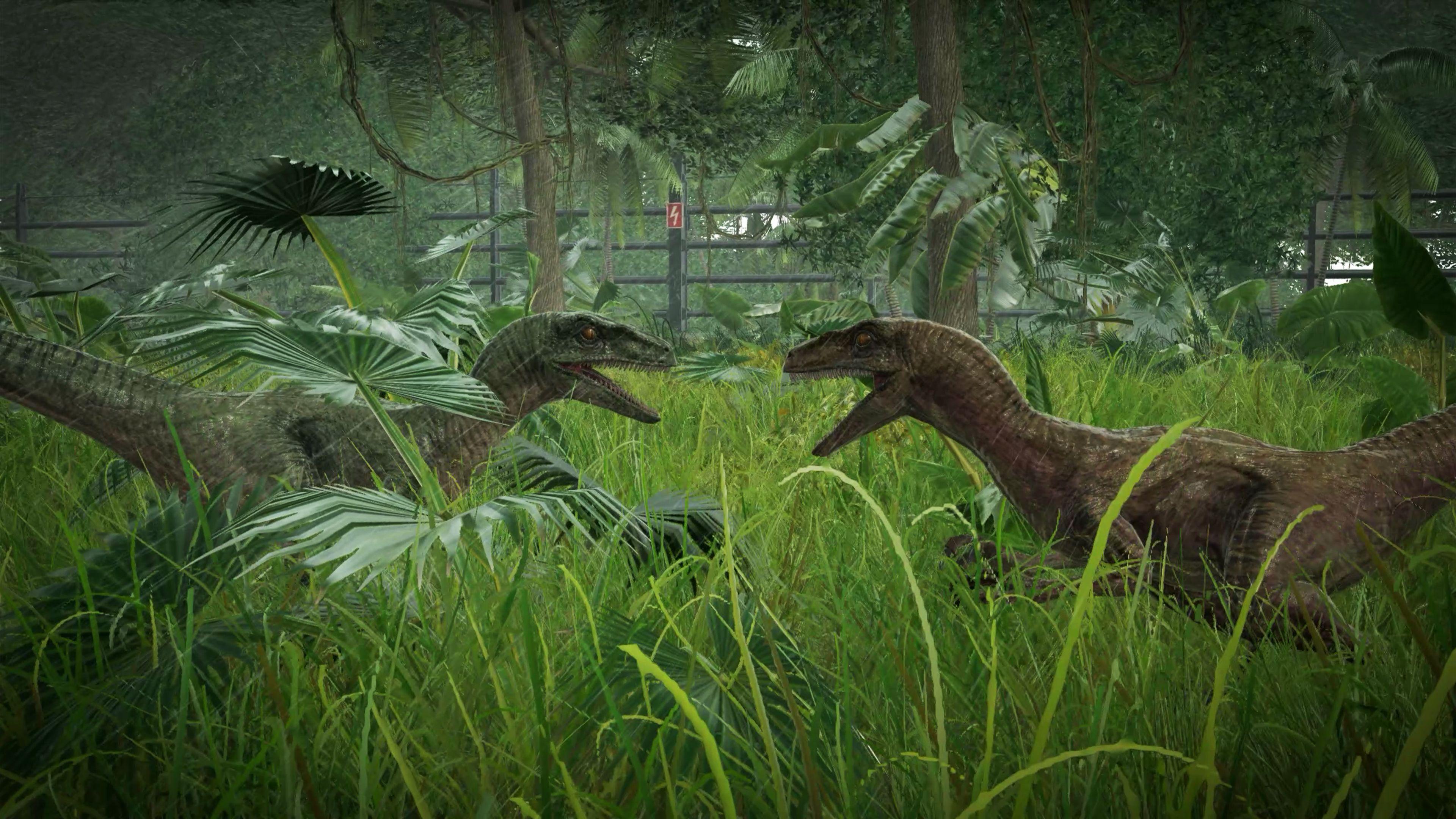 Скриншот №1 к Jurassic World Evolution издание «Парк Юрского периода»