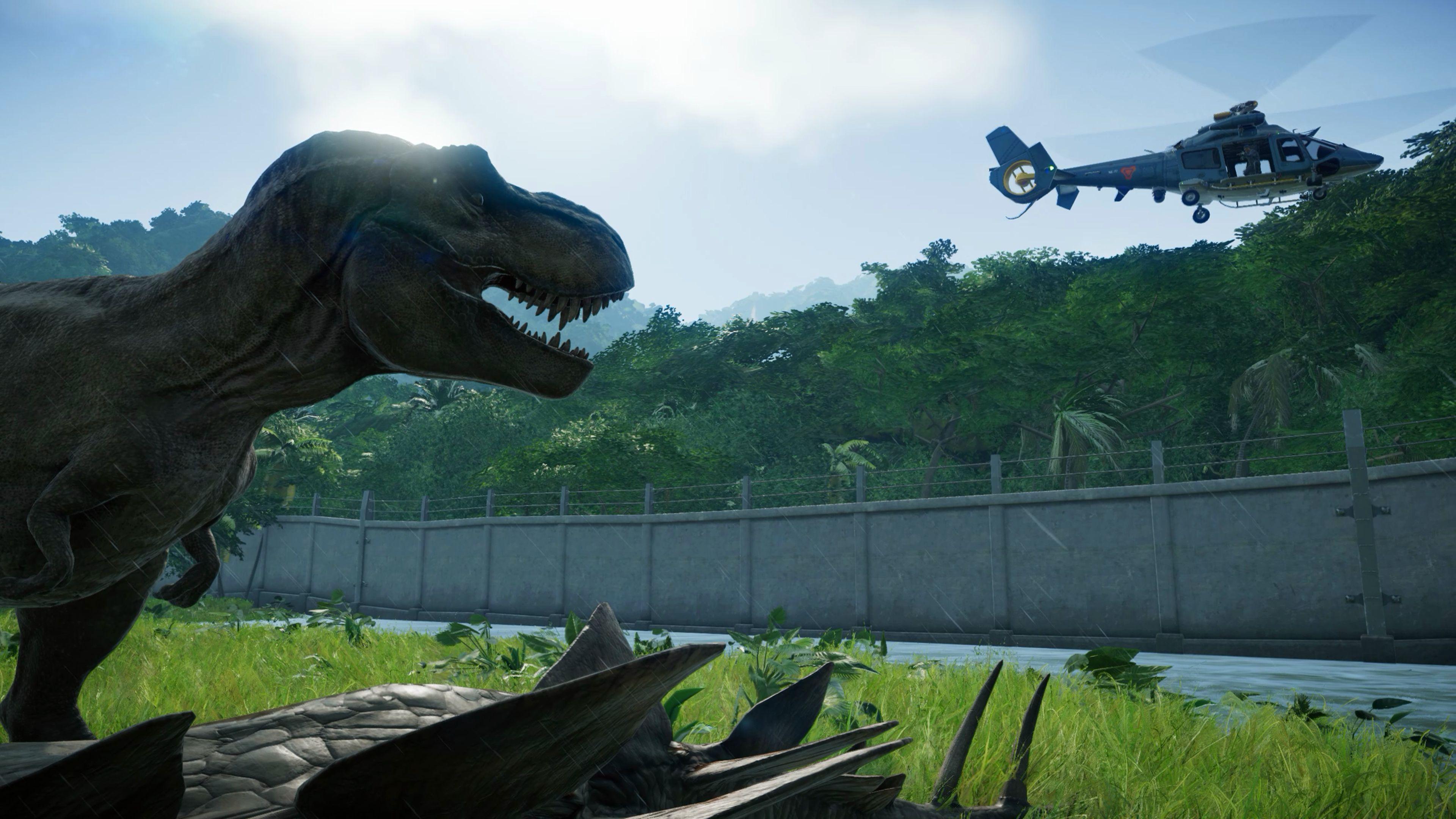 Скриншот №2 к Jurassic World Evolution издание «Парк Юрского периода»