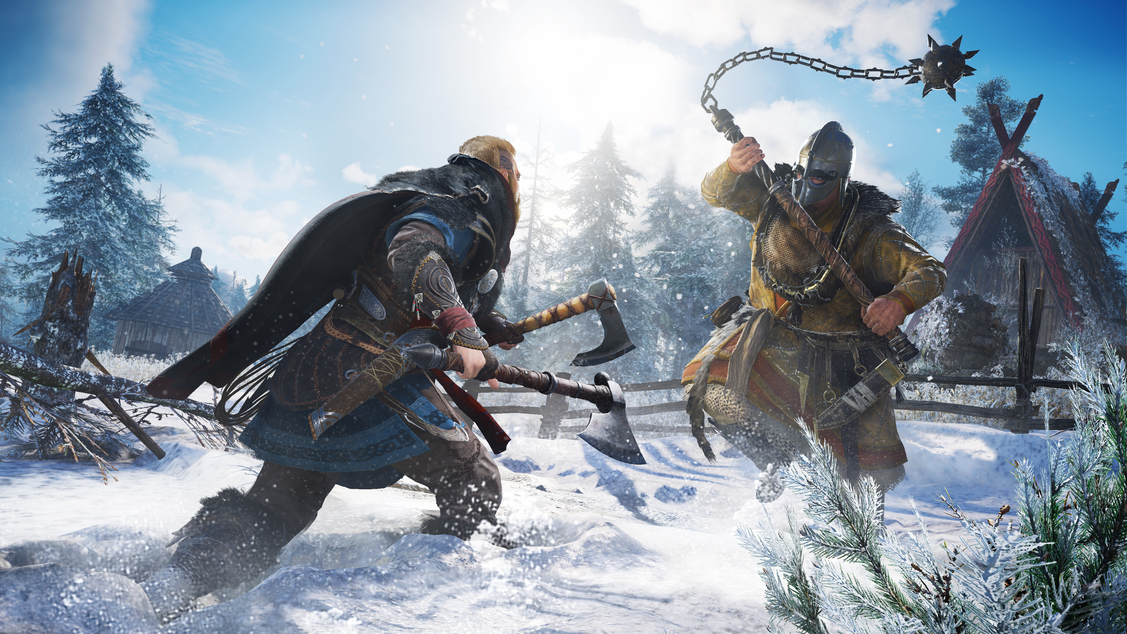 Скриншот №1 к Assassins Creed Вальгалла Ultimate PS4 and PS5