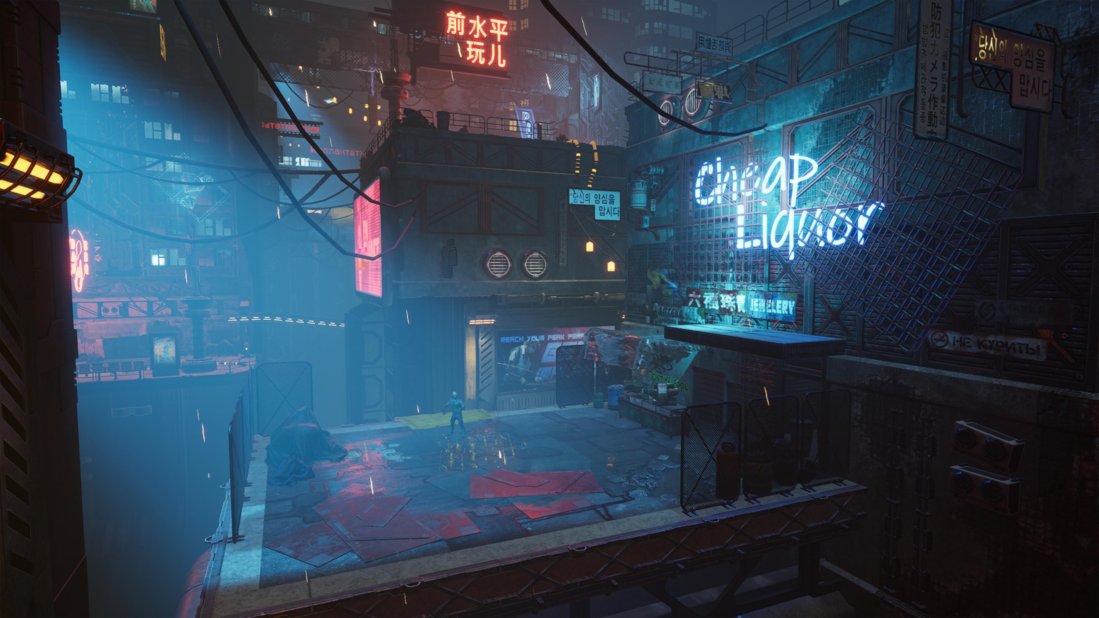 Скриншот №1 к Ghostrunner