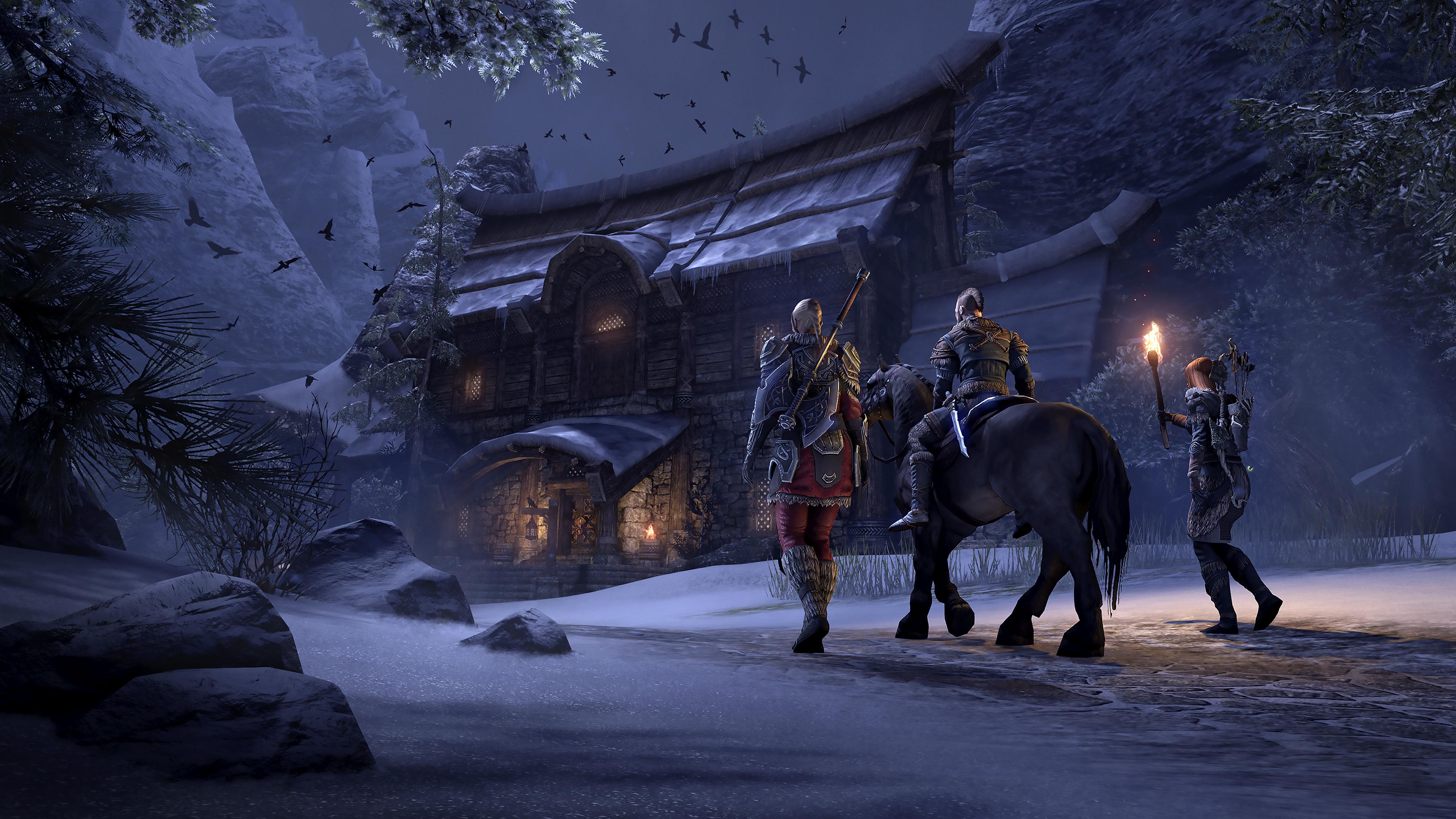 Скриншот №1 к The Elder Scrolls Online Tamriel Unlimited
