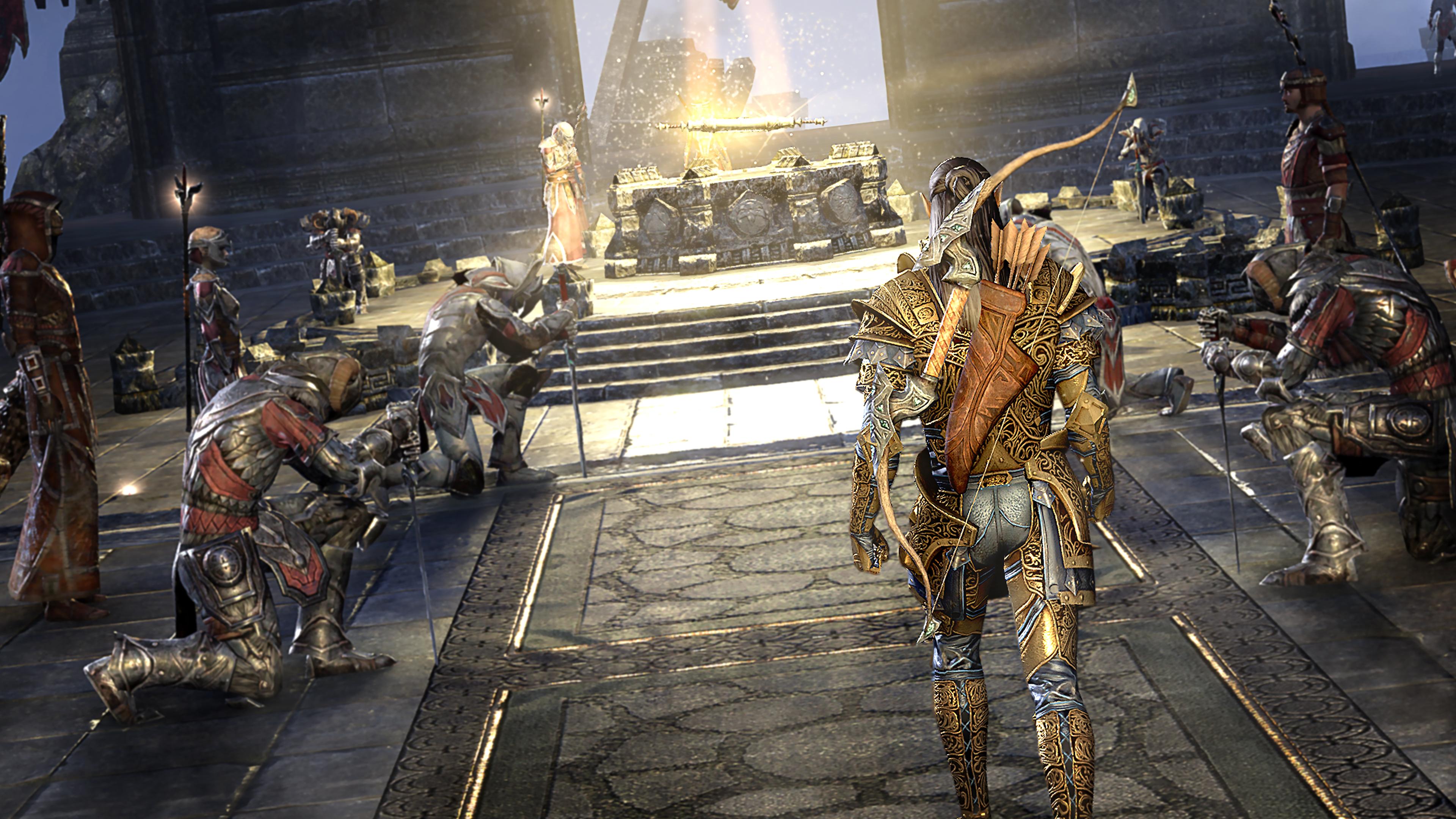 Скриншот №3 к The Elder Scrolls Online Tamriel Unlimited