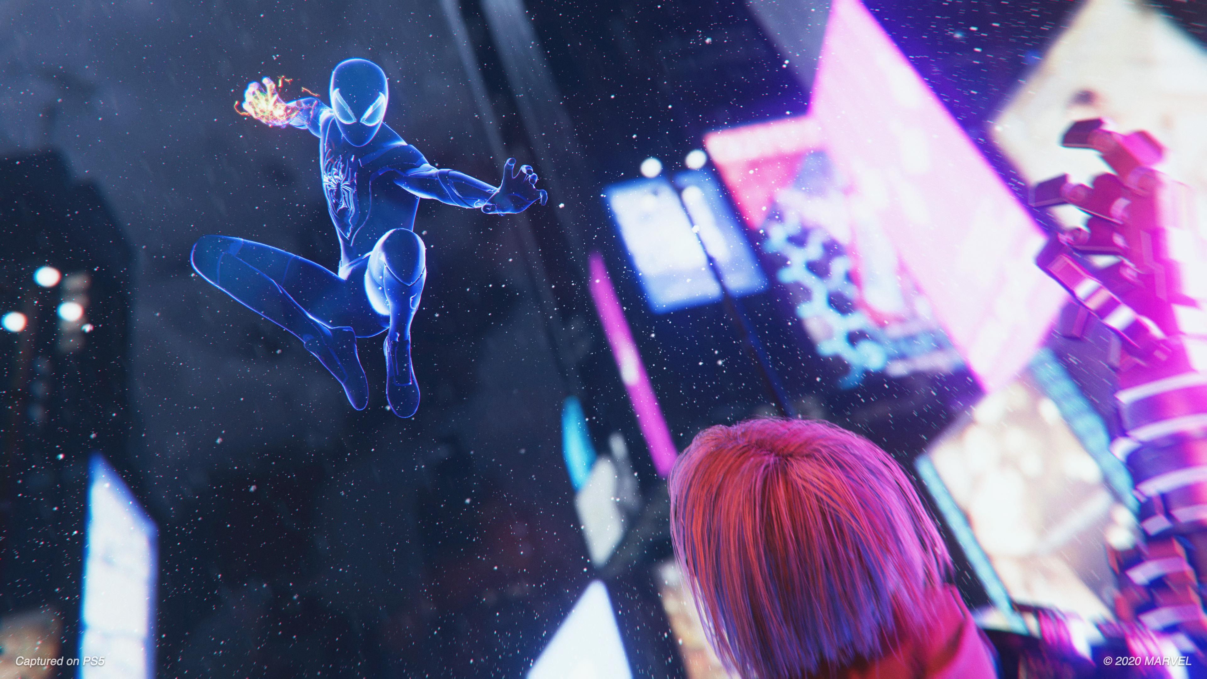 Скриншот №3 к MARVEL Человек-Паук Майлз Моралес PS4 and PS5