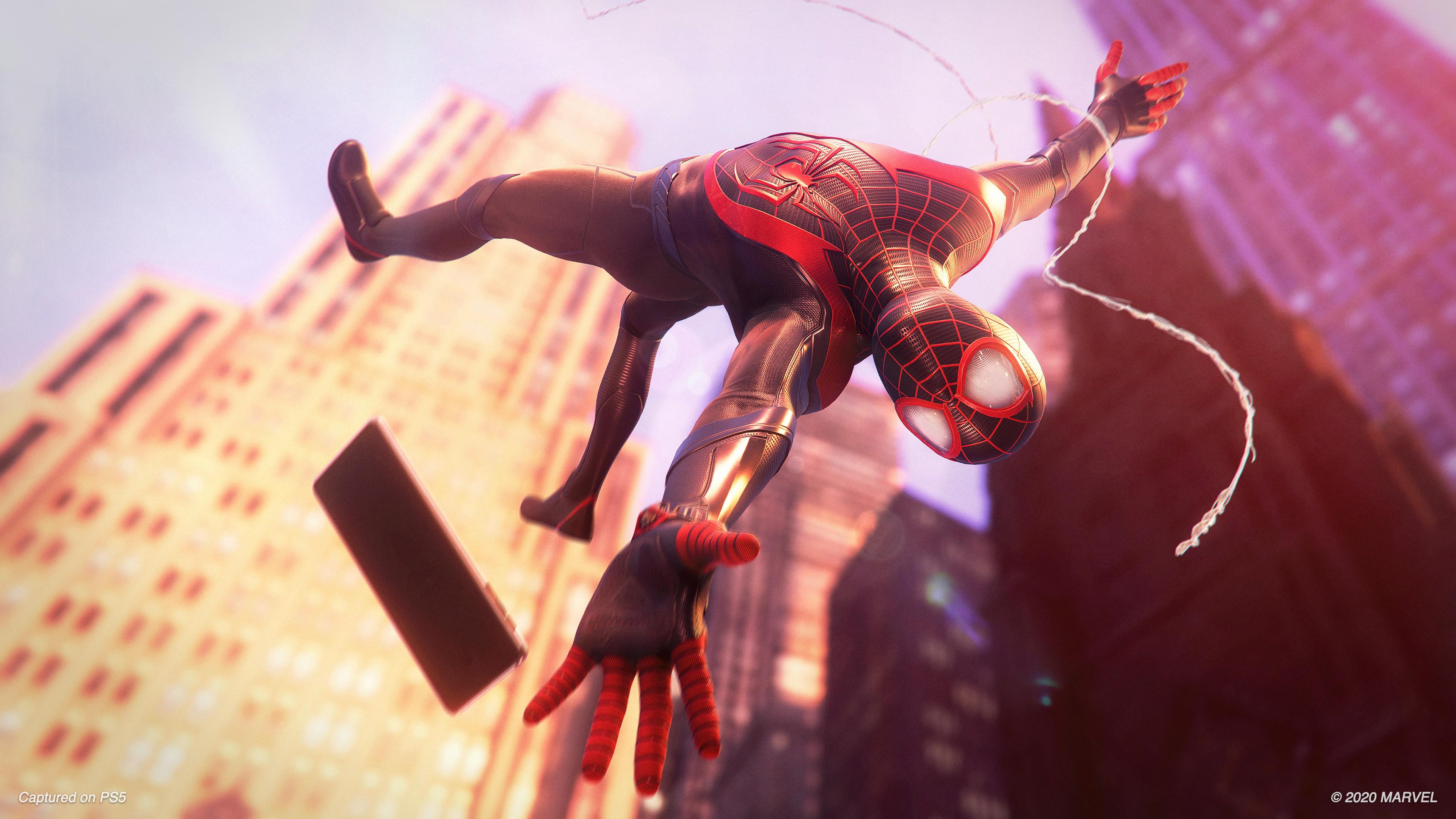 Скриншот №9 к MARVEL Человек-Паук Майлз Моралес PS4 and PS5