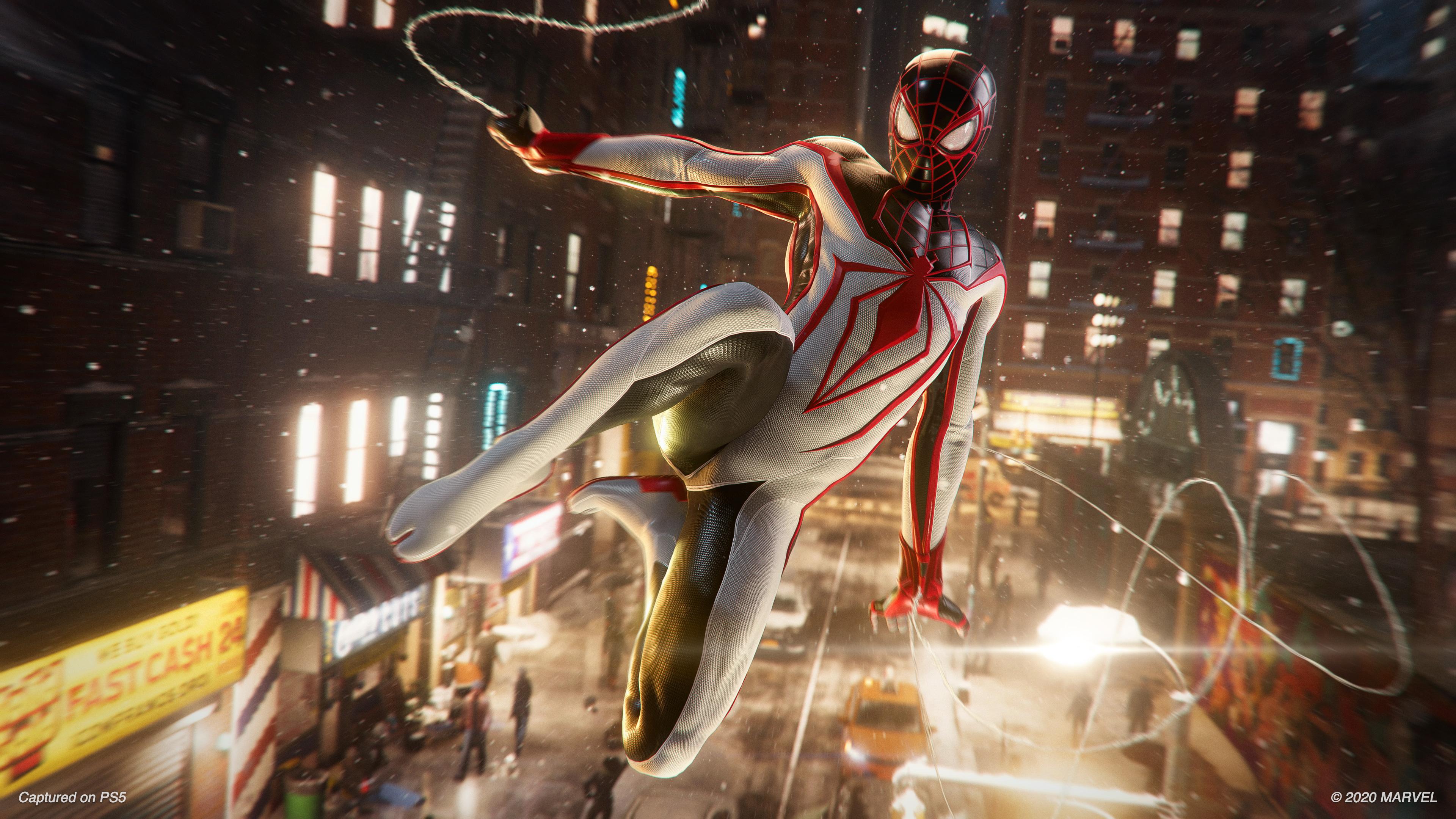 Скриншот №8 к MARVEL Человек-Паук Майлз Моралес PS4 and PS5