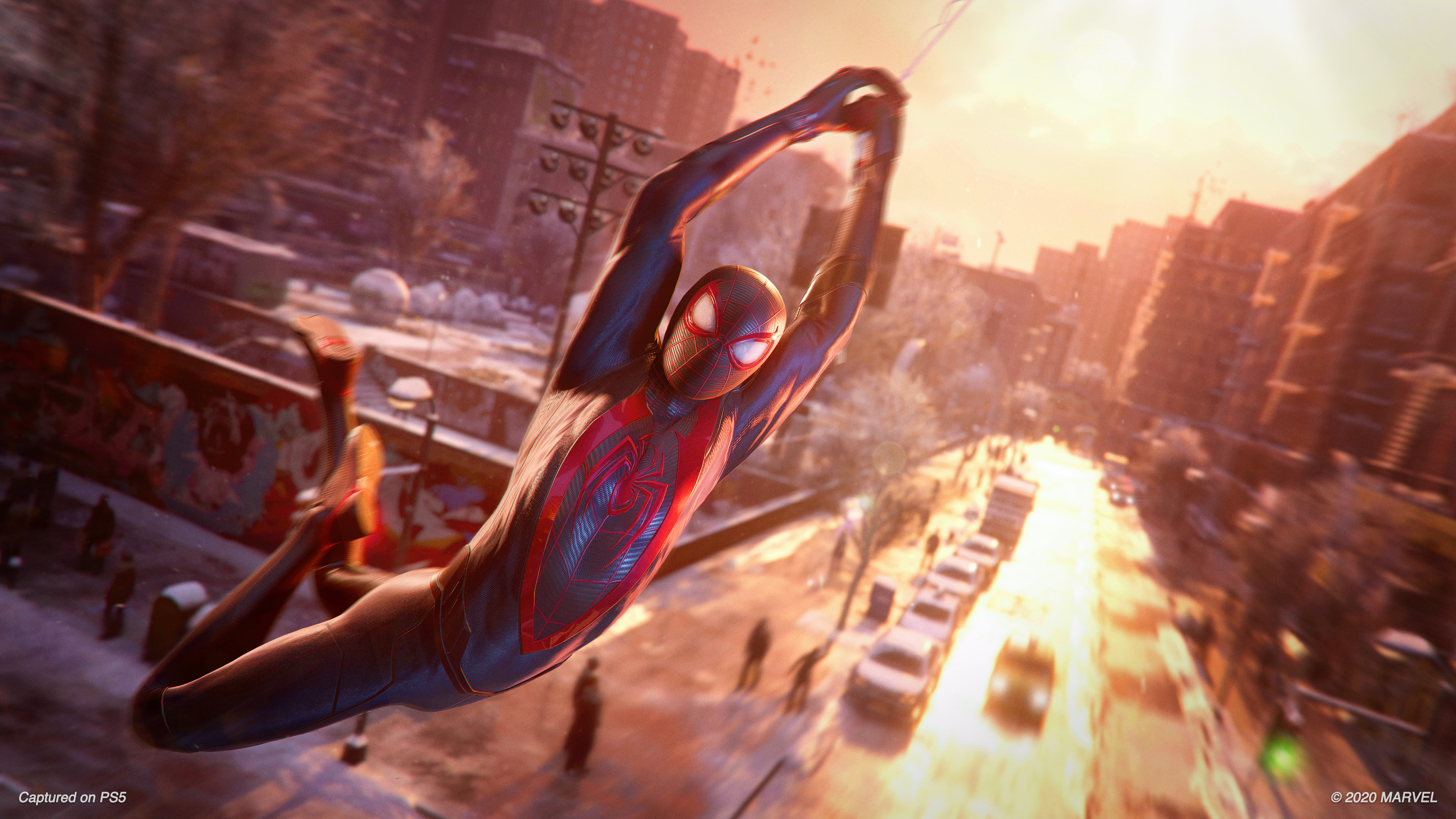 Скриншот №6 к MARVEL Человек-Паук Майлз Моралес PS4 and PS5