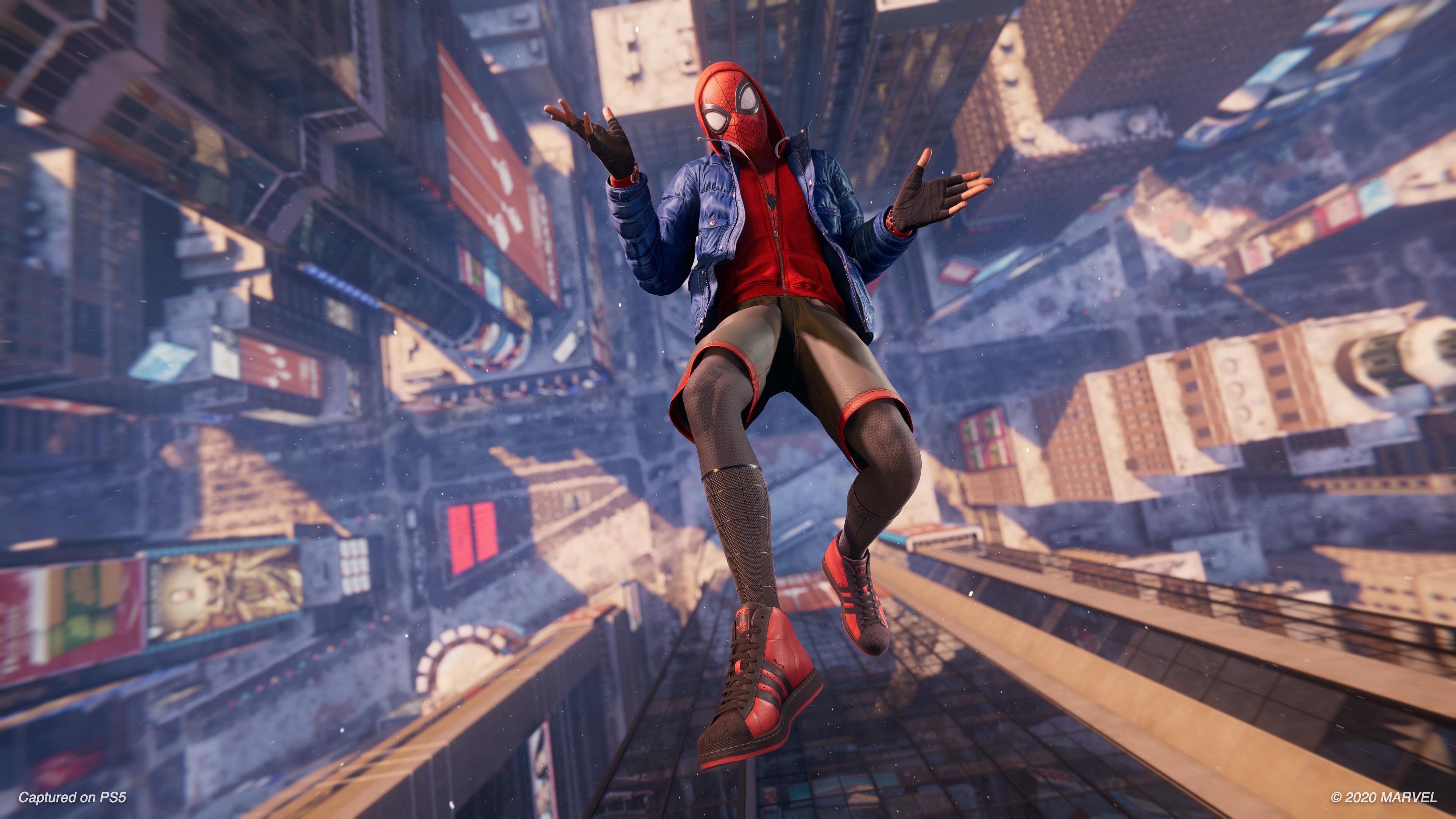 Скриншот №10 к MARVEL Человек-Паук Майлз Моралес PS4 and PS5