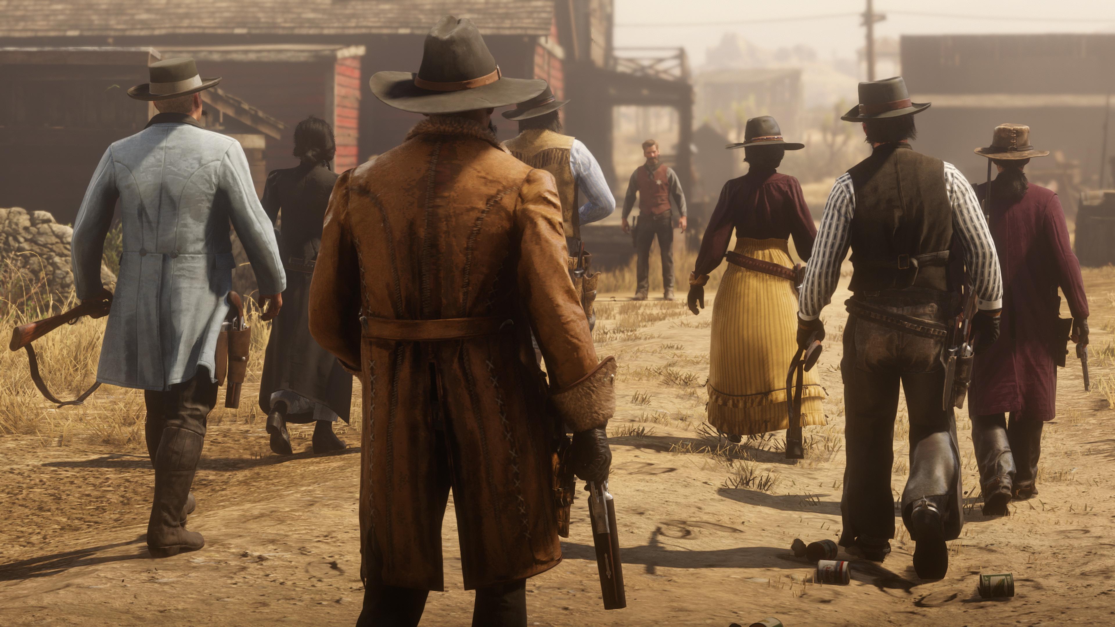 Скриншот №2 к Red Dead Online