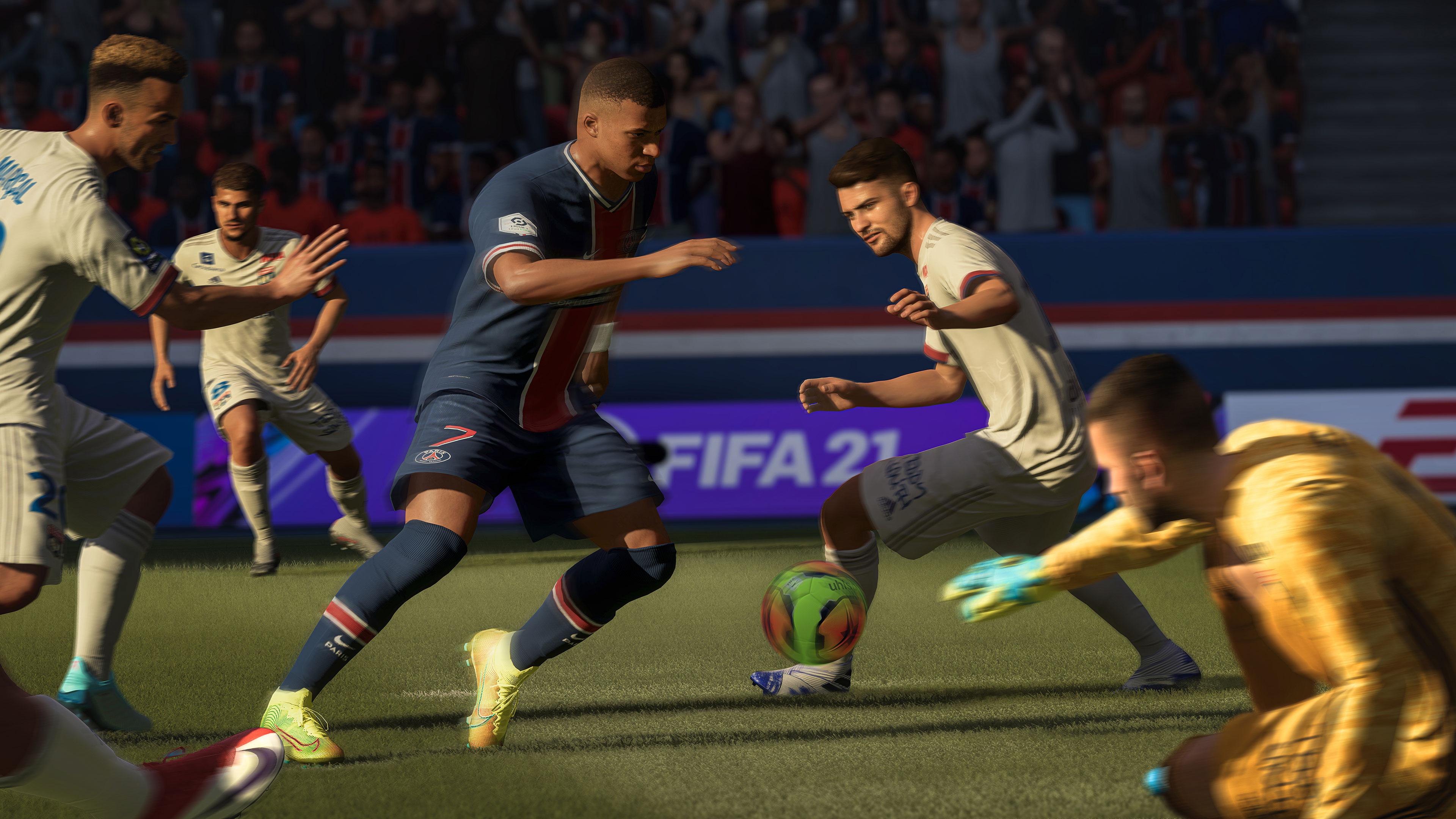 Скриншот №5 к FIFA 21 издание Champions PS4 and PS5