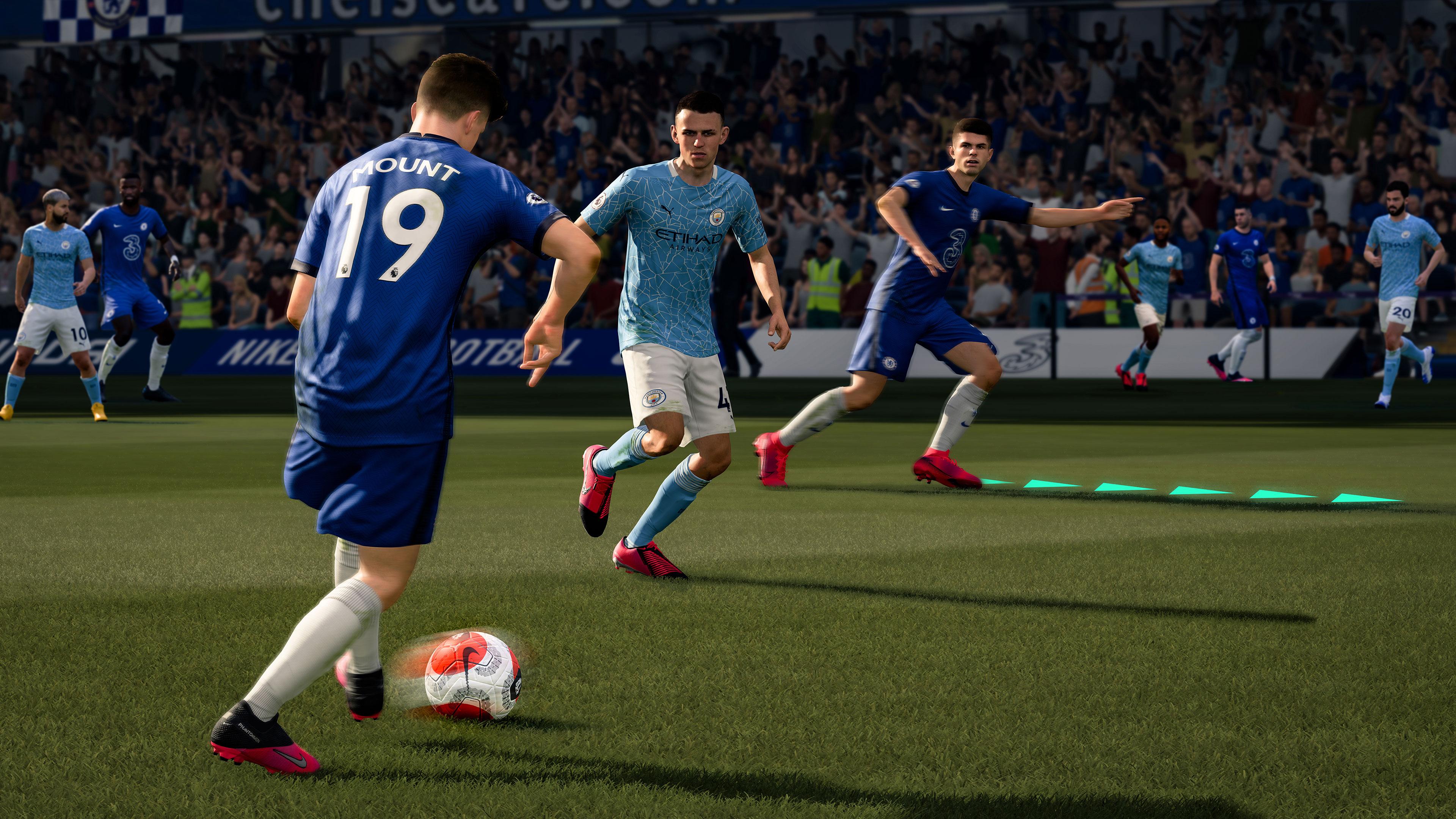 Скриншот №7 к FIFA 21 издание Champions PS4 and PS5