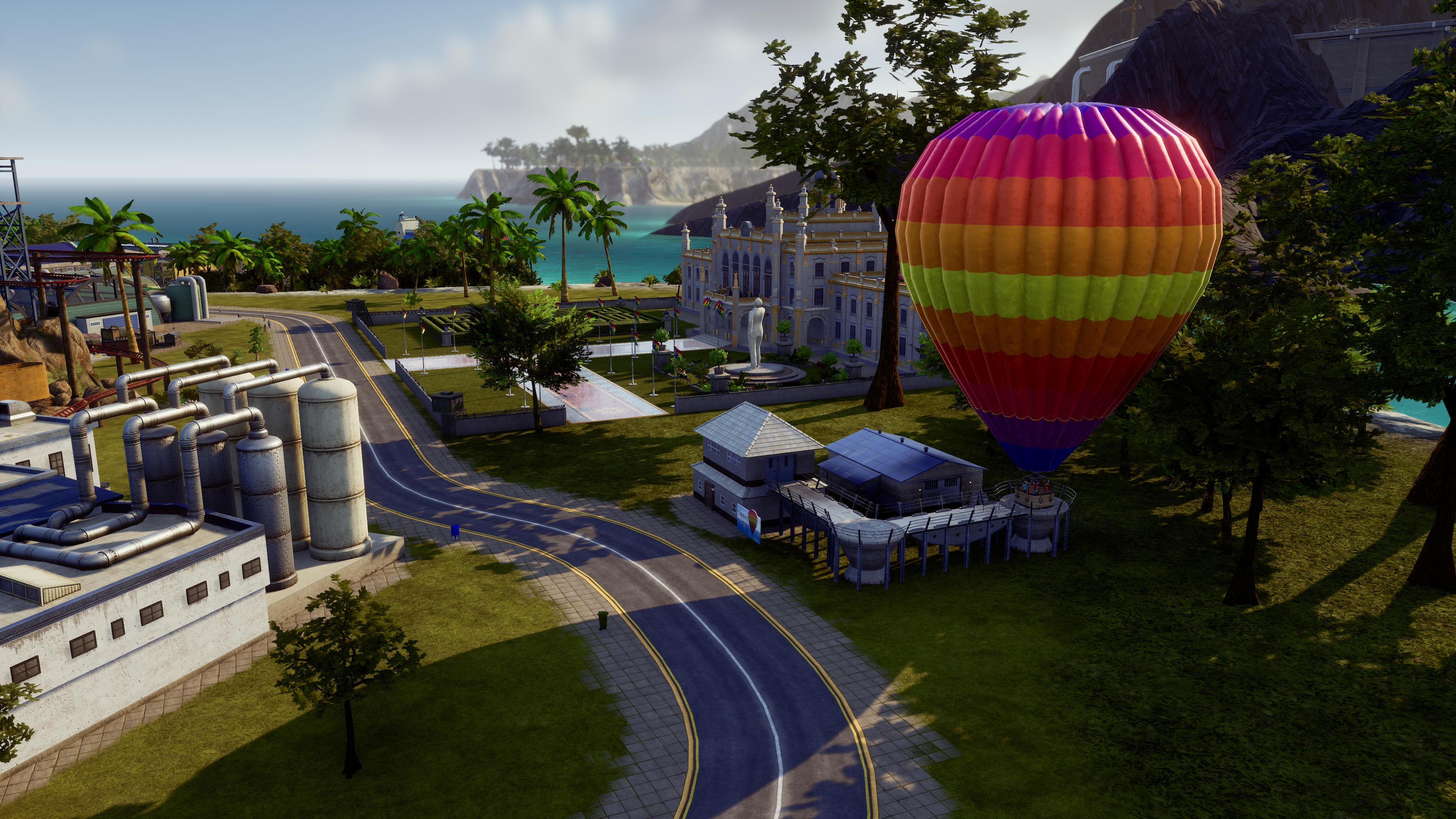 Скриншот №4 к Tropico 6 - Caribbean Skies