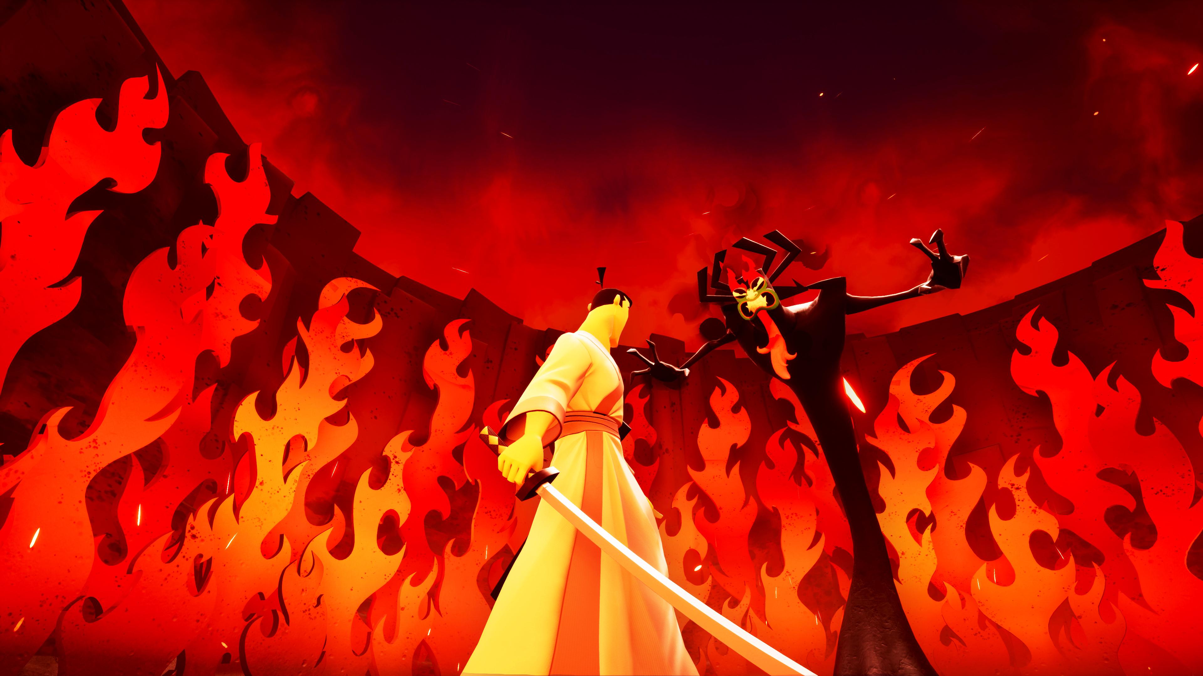 Скриншот №1 к Samurai Jack Battle Through Time