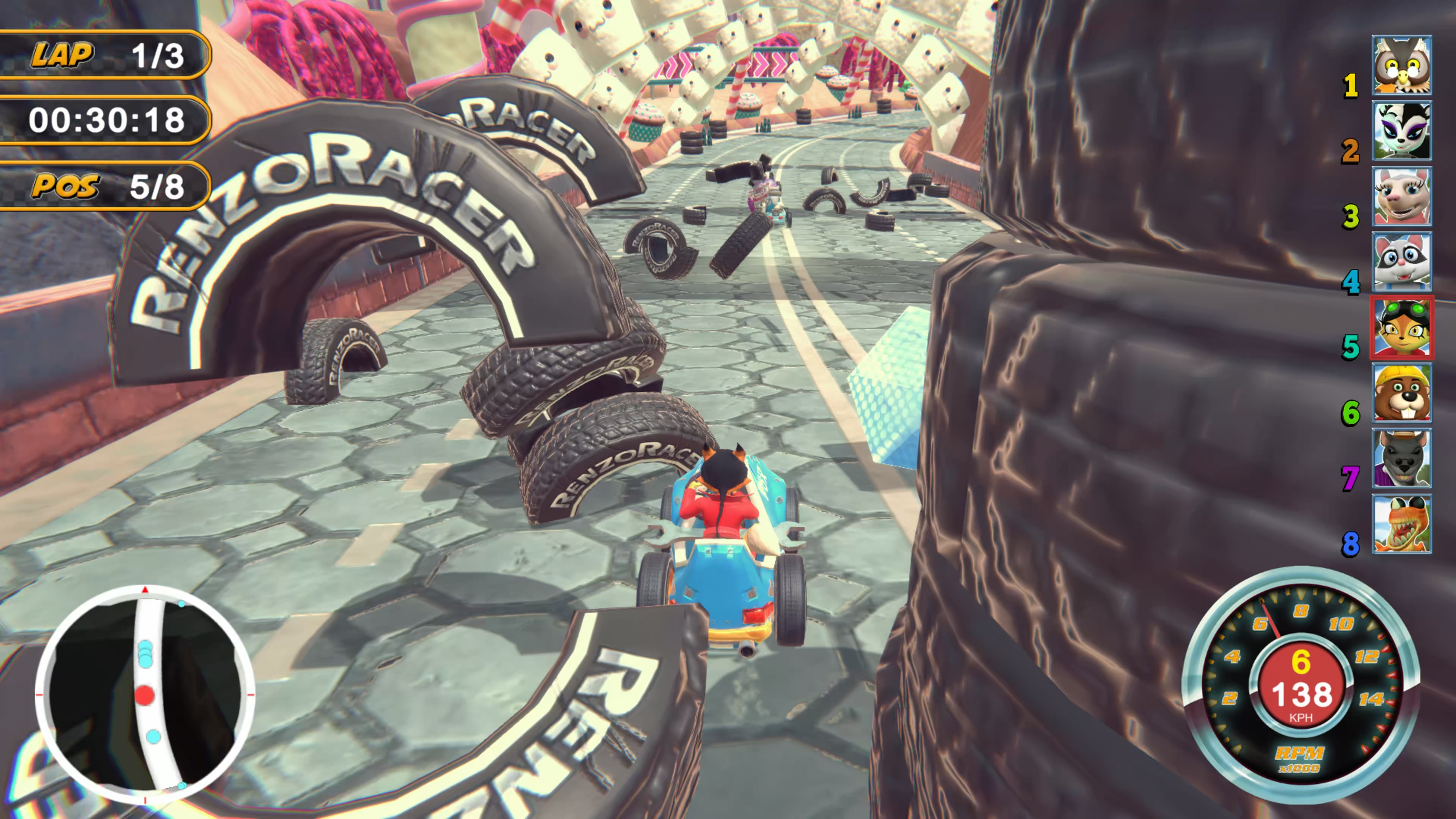 Скриншот №10 к Renzo Racer