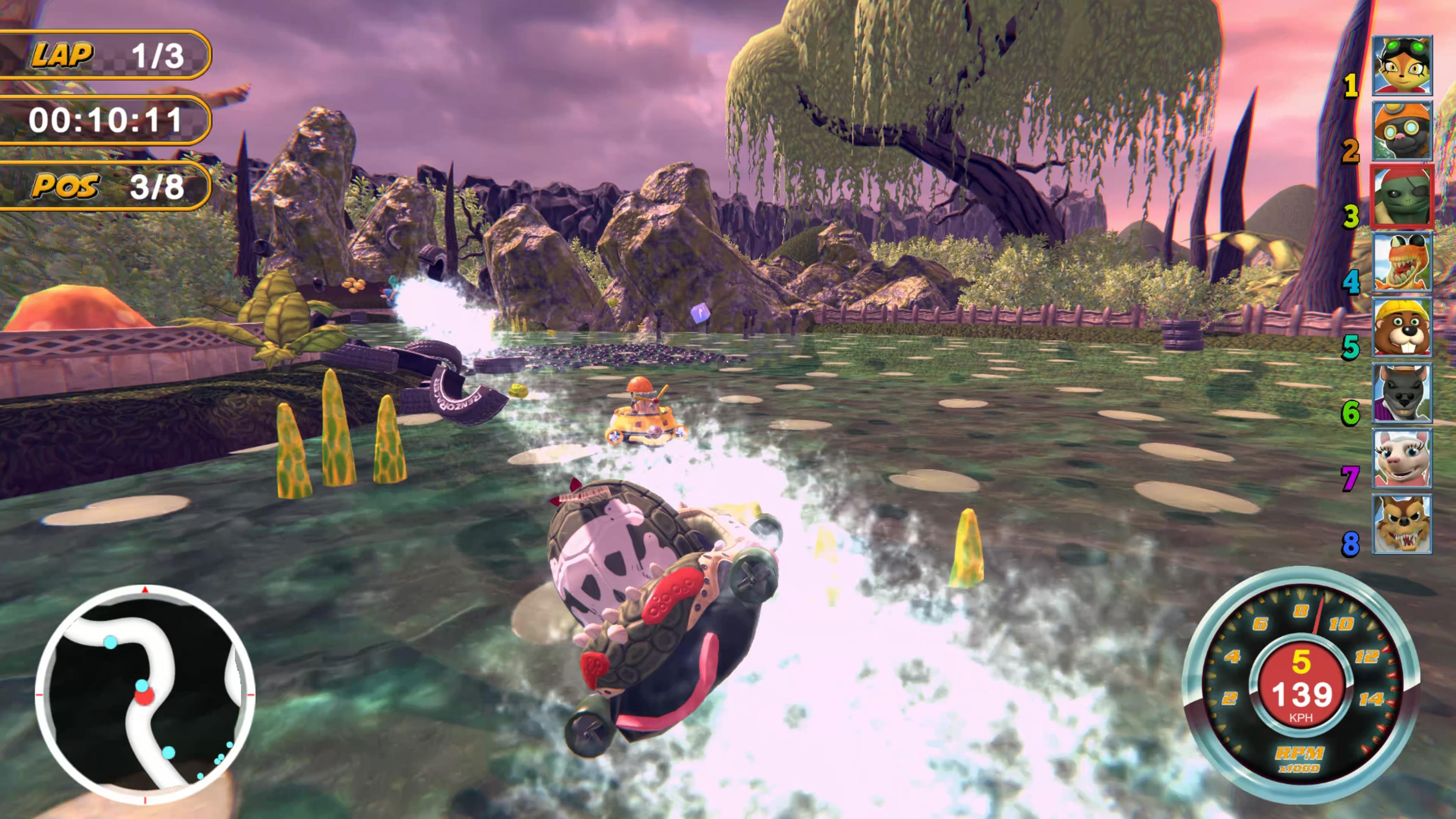 Скриншот №2 к Renzo Racer