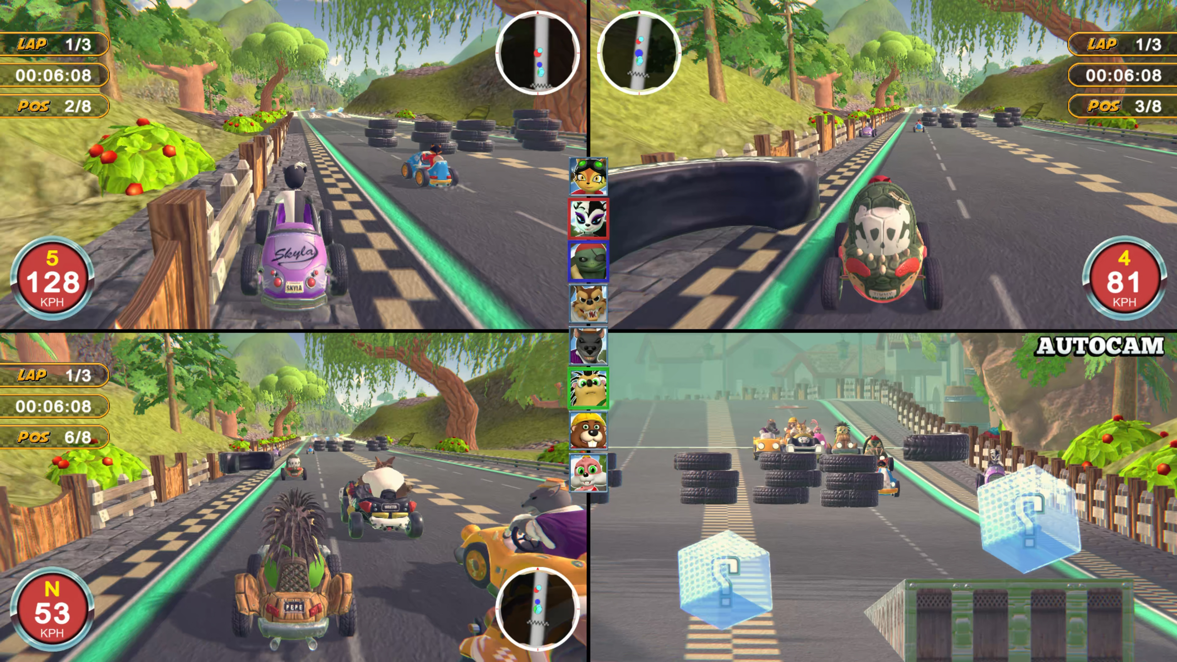 Скриншот №1 к Renzo Racer