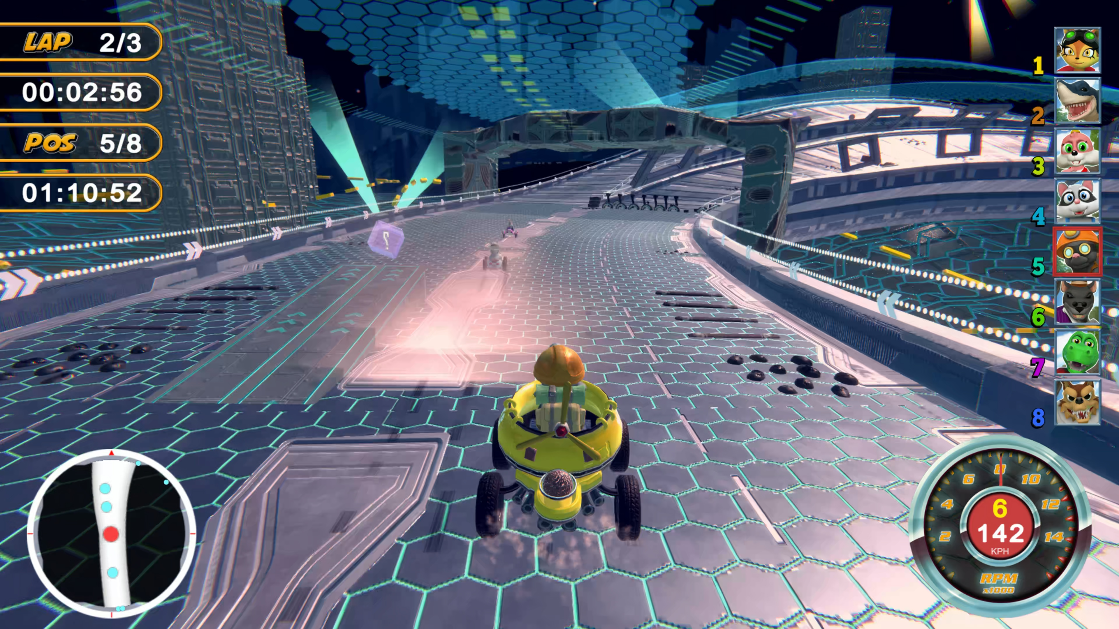 Скриншот №3 к Renzo Racer