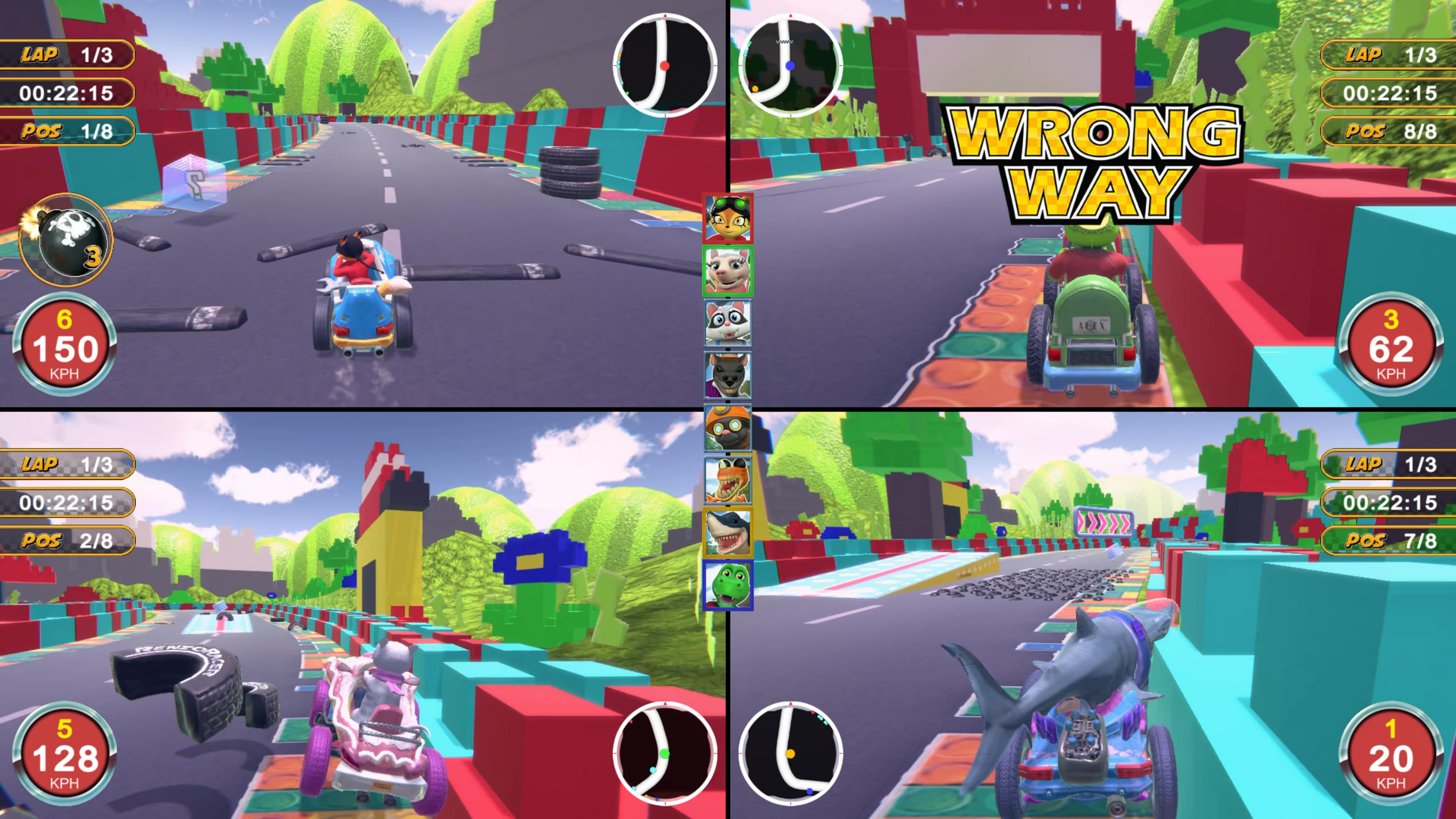 Скриншот №4 к Renzo Racer