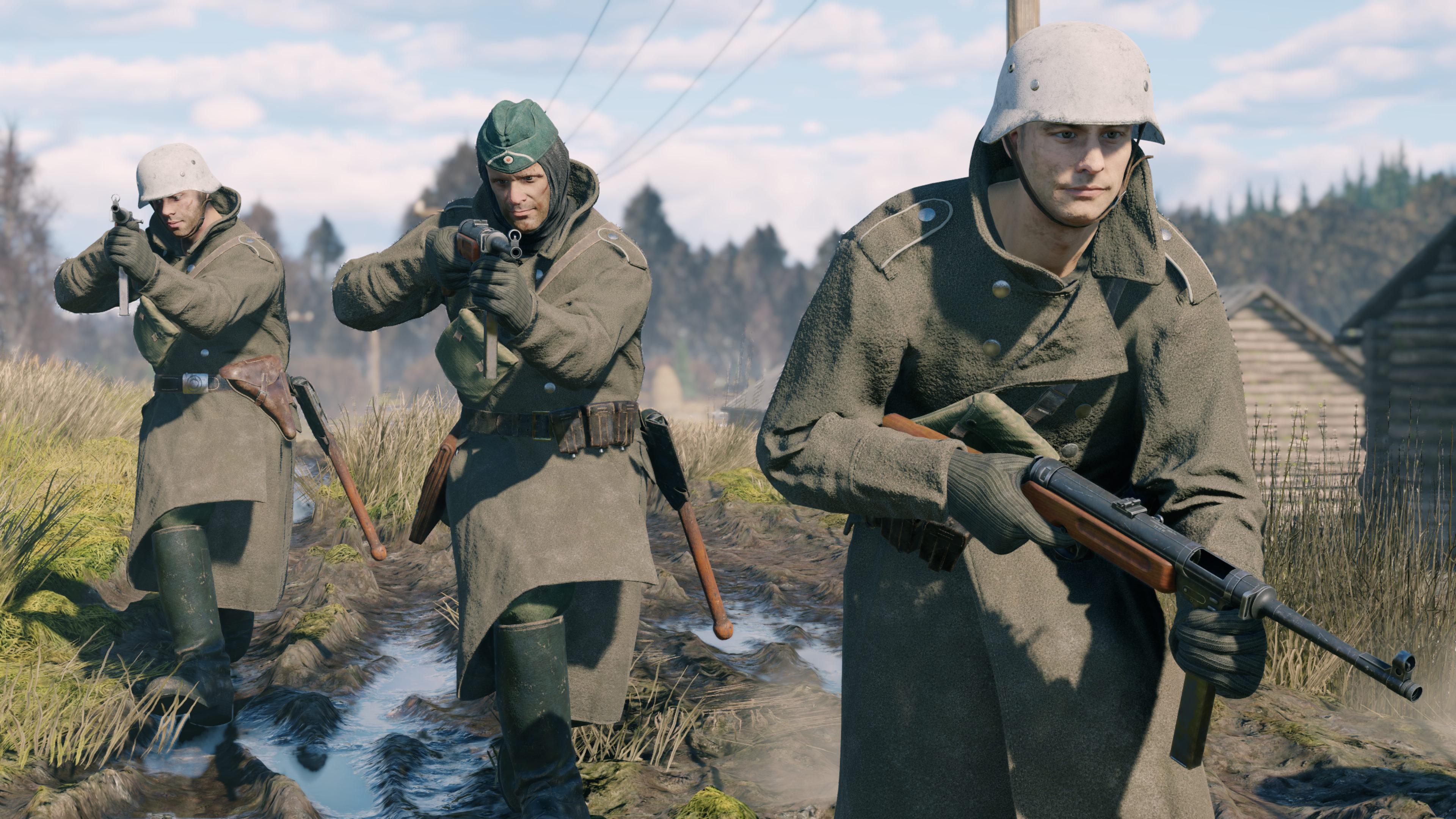 Скриншот №4 к Enlisted - Комплект Основателя Битва за Москву Отряд MP 41