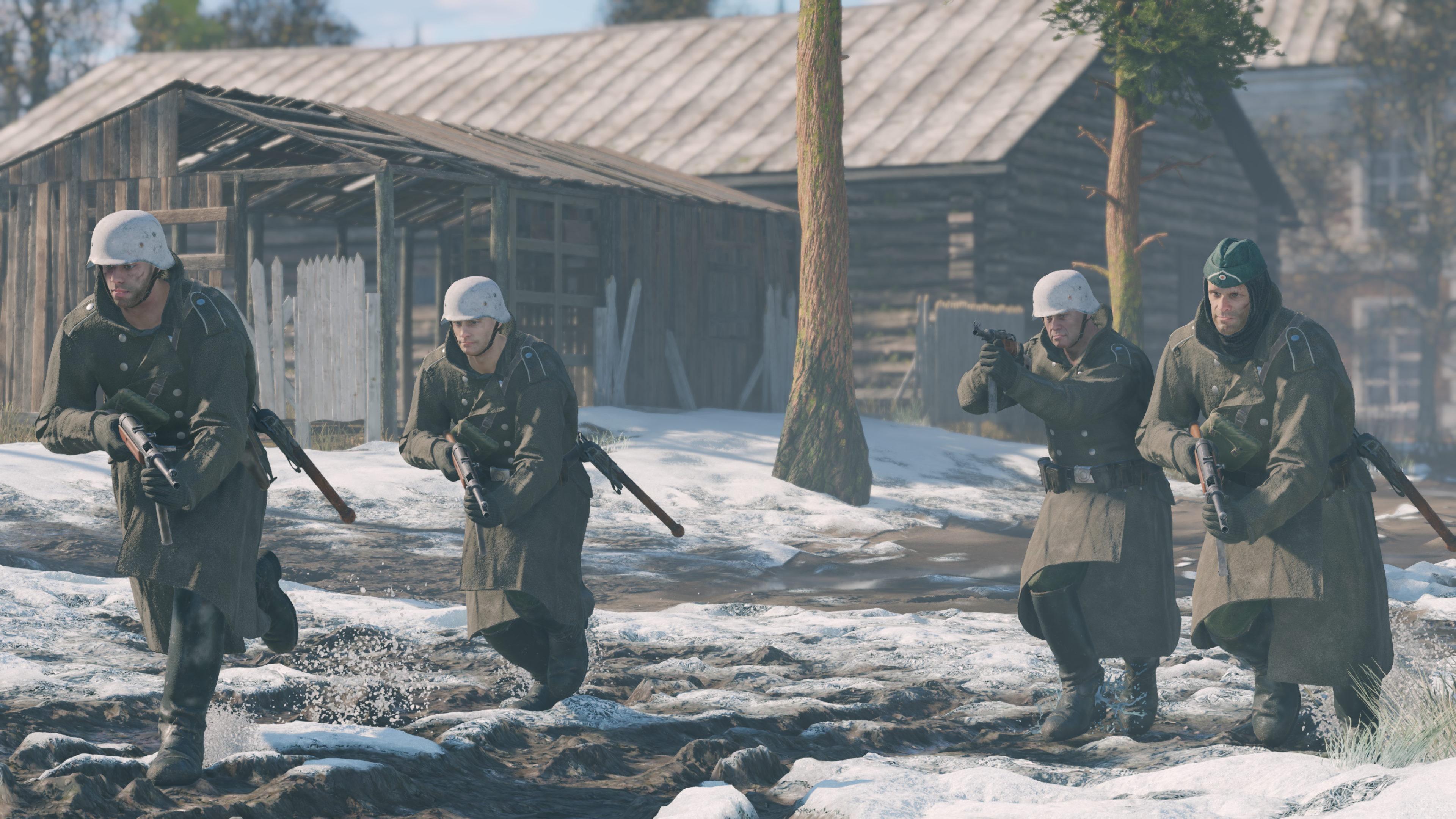 Скриншот №1 к Enlisted - Комплект Основателя Битва за Москву Отряд MP 41