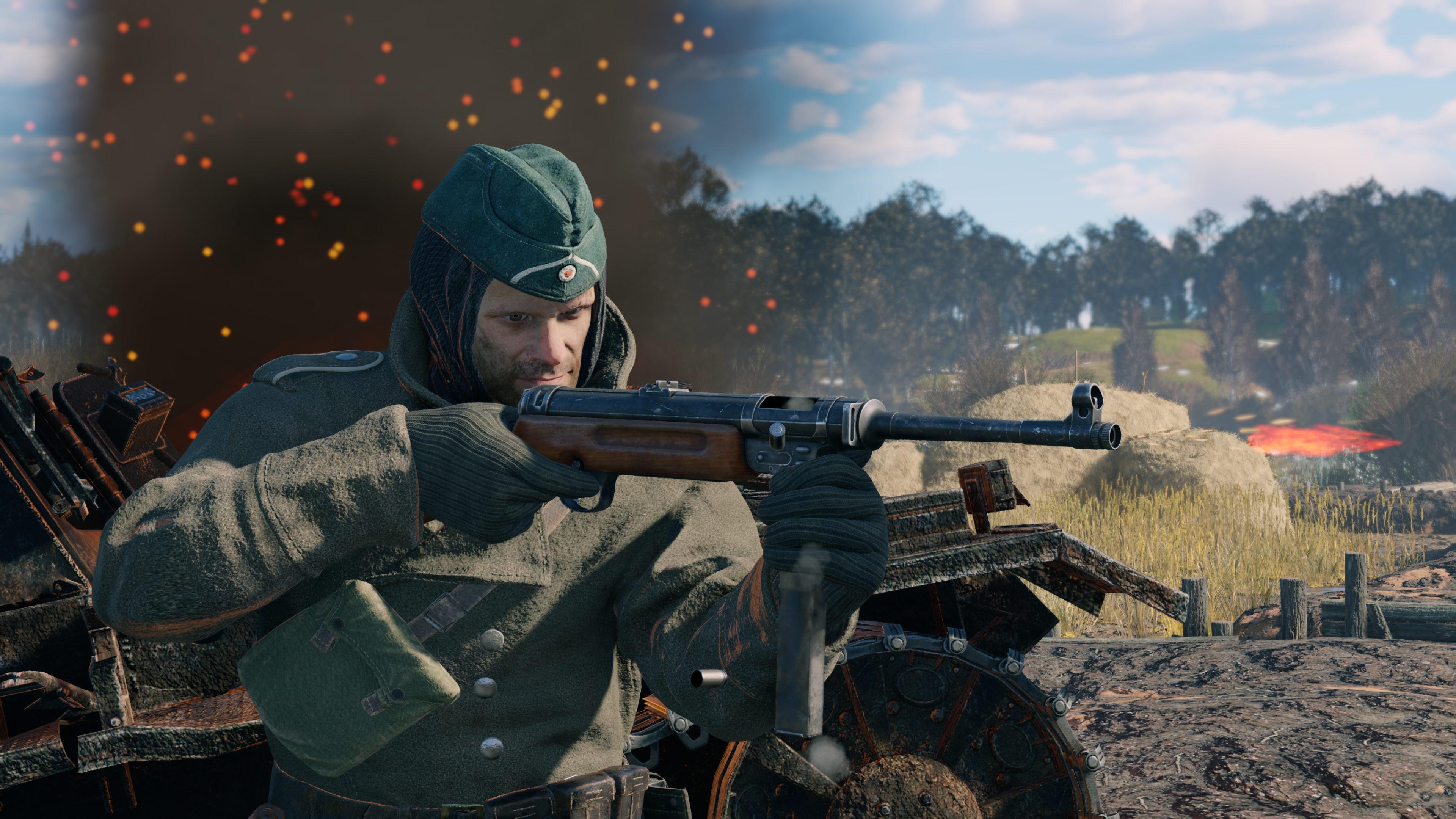 Скриншот №3 к Enlisted - Комплект Основателя Битва за Москву Отряд MP 41