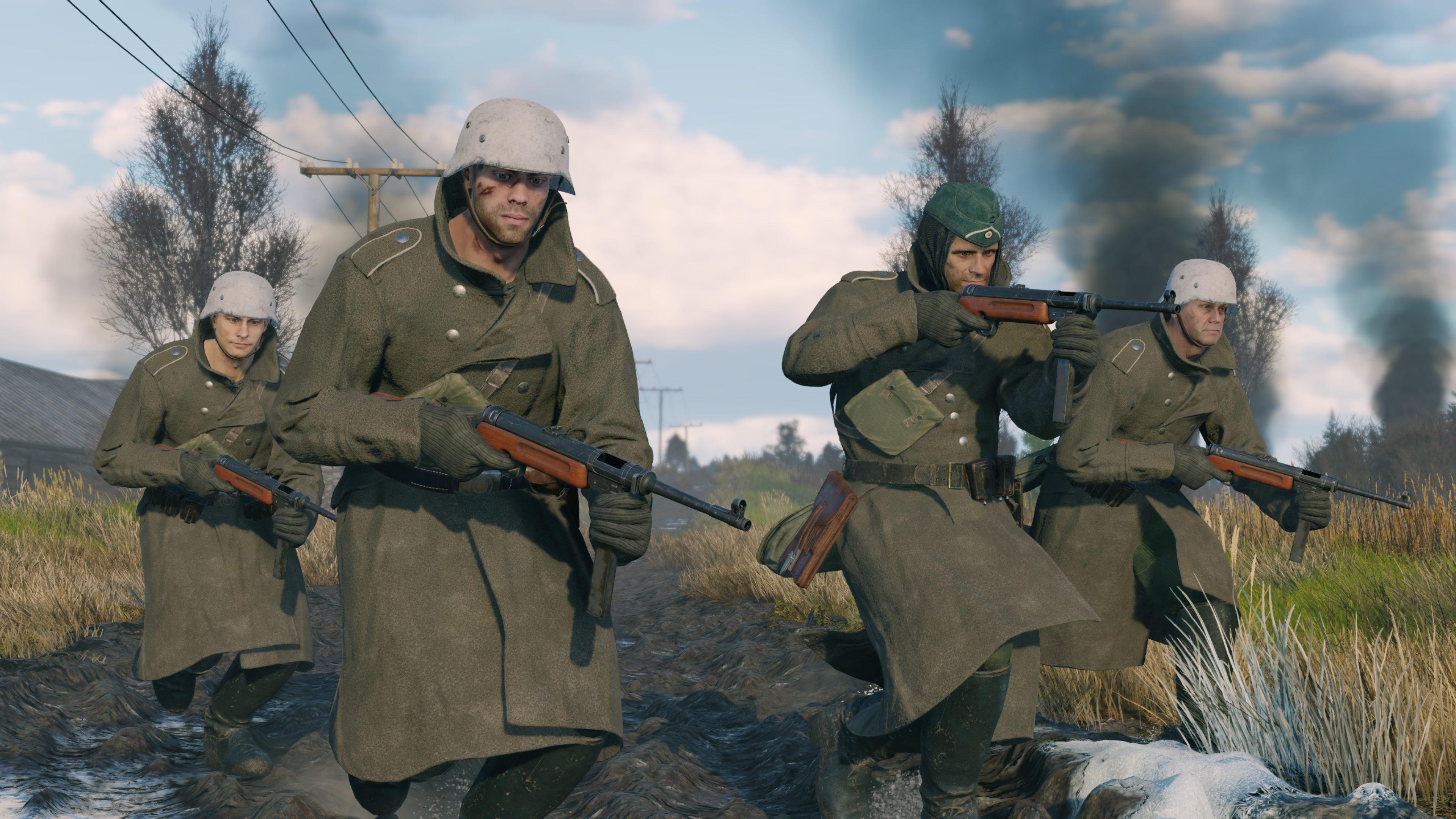 Скриншот №2 к Enlisted - Комплект Основателя Битва за Москву Отряд MP 41