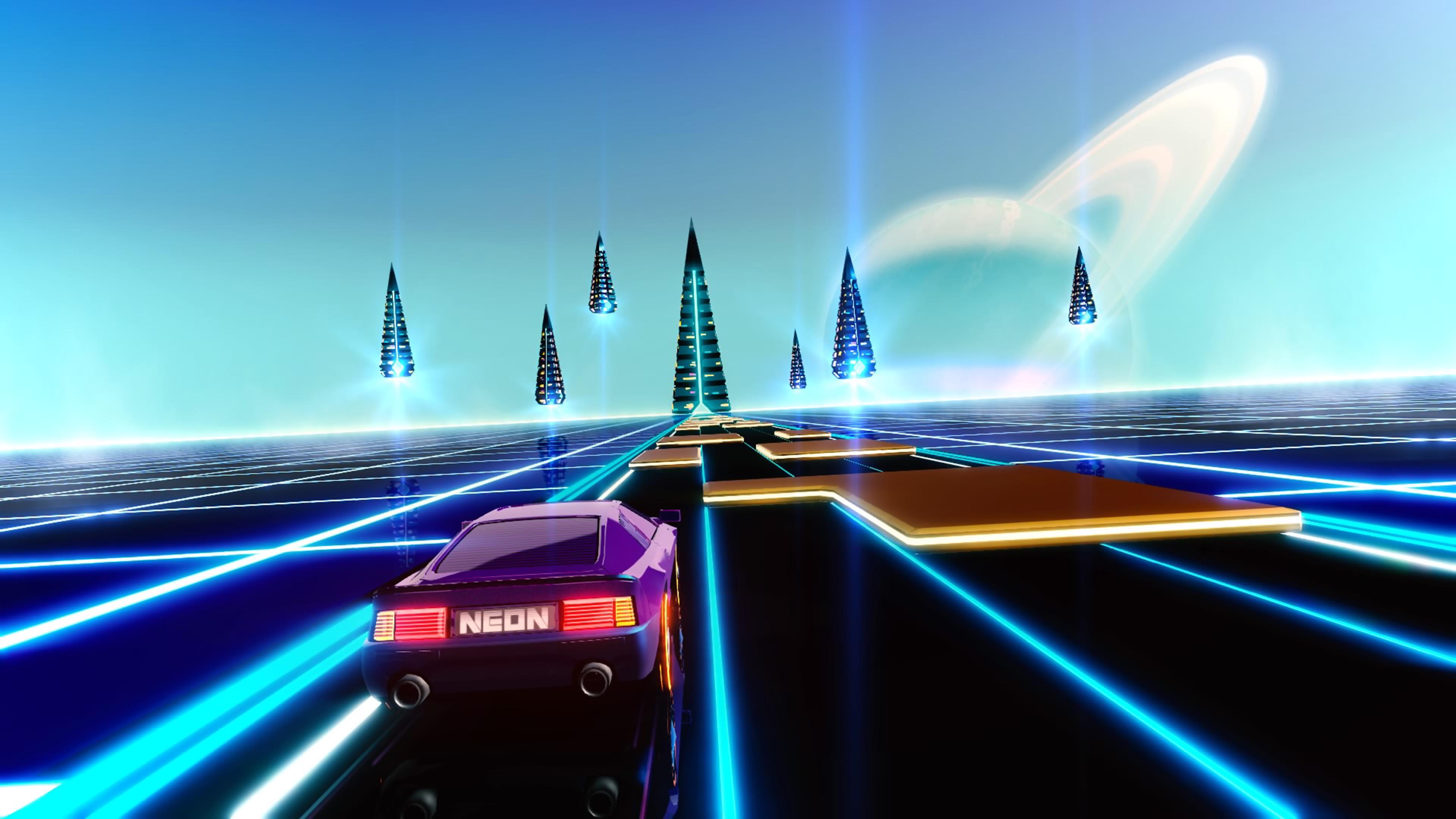 Скриншот №4 к Neon Drive