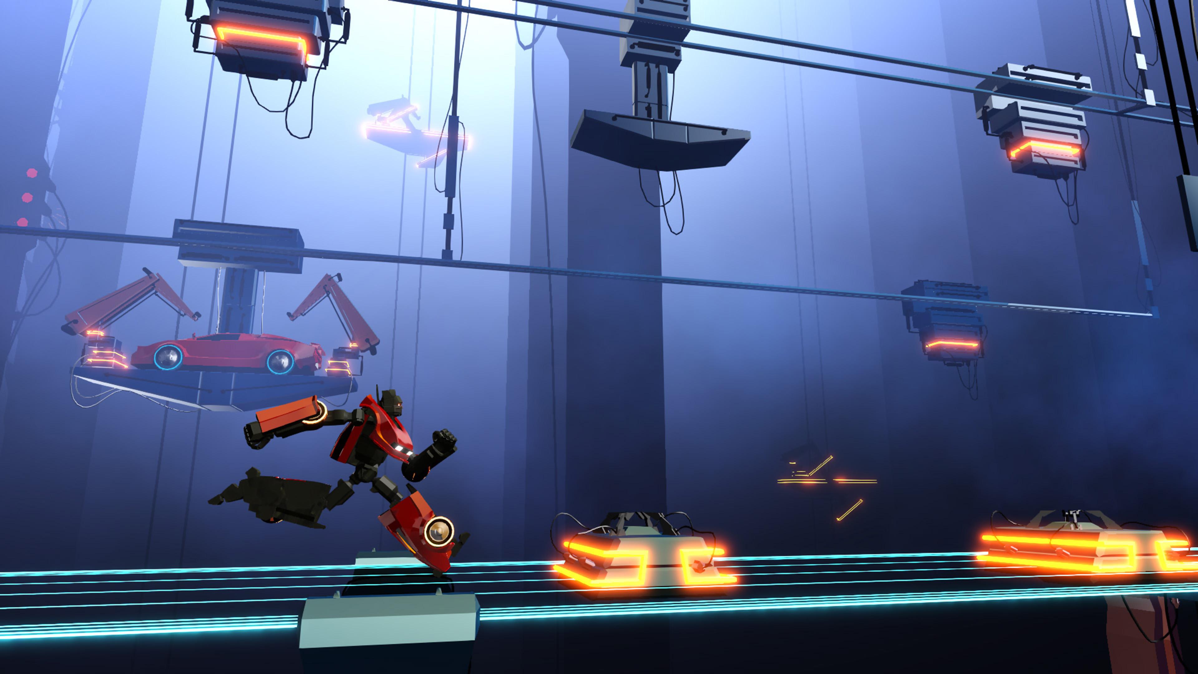 Скриншот №2 к Neon Drive