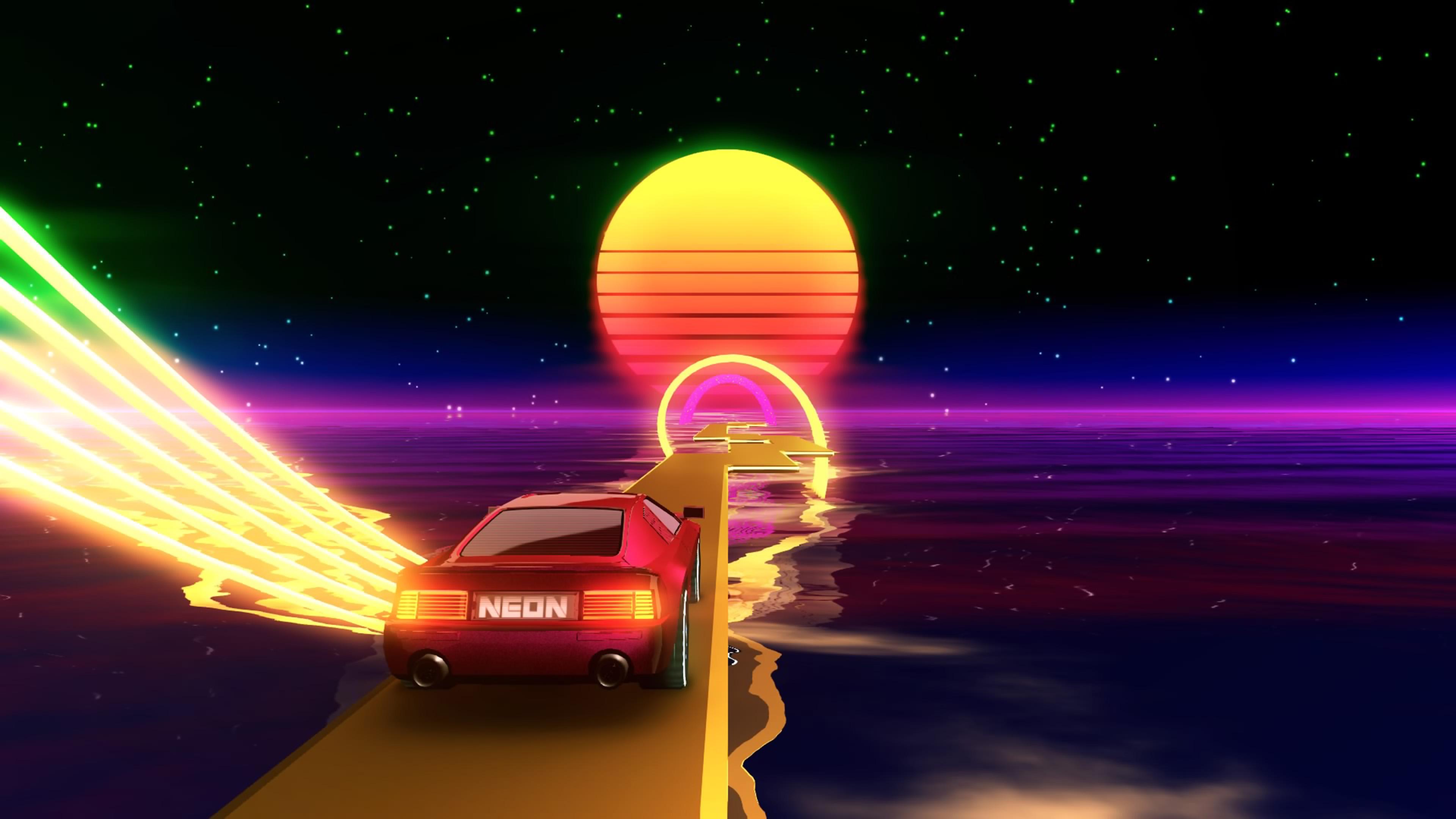 Скриншот №6 к Neon Drive
