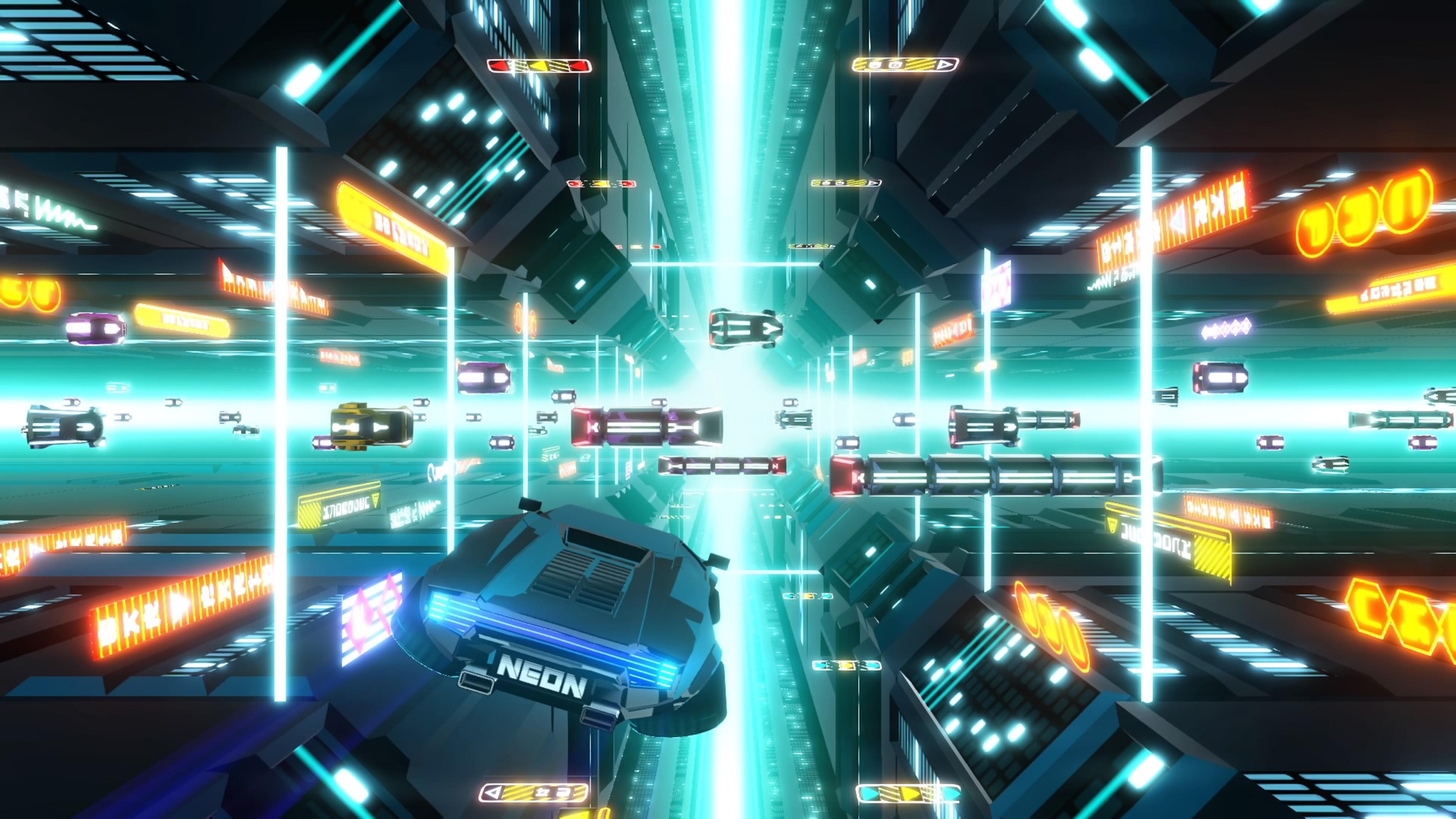 Скриншот №8 к Neon Drive