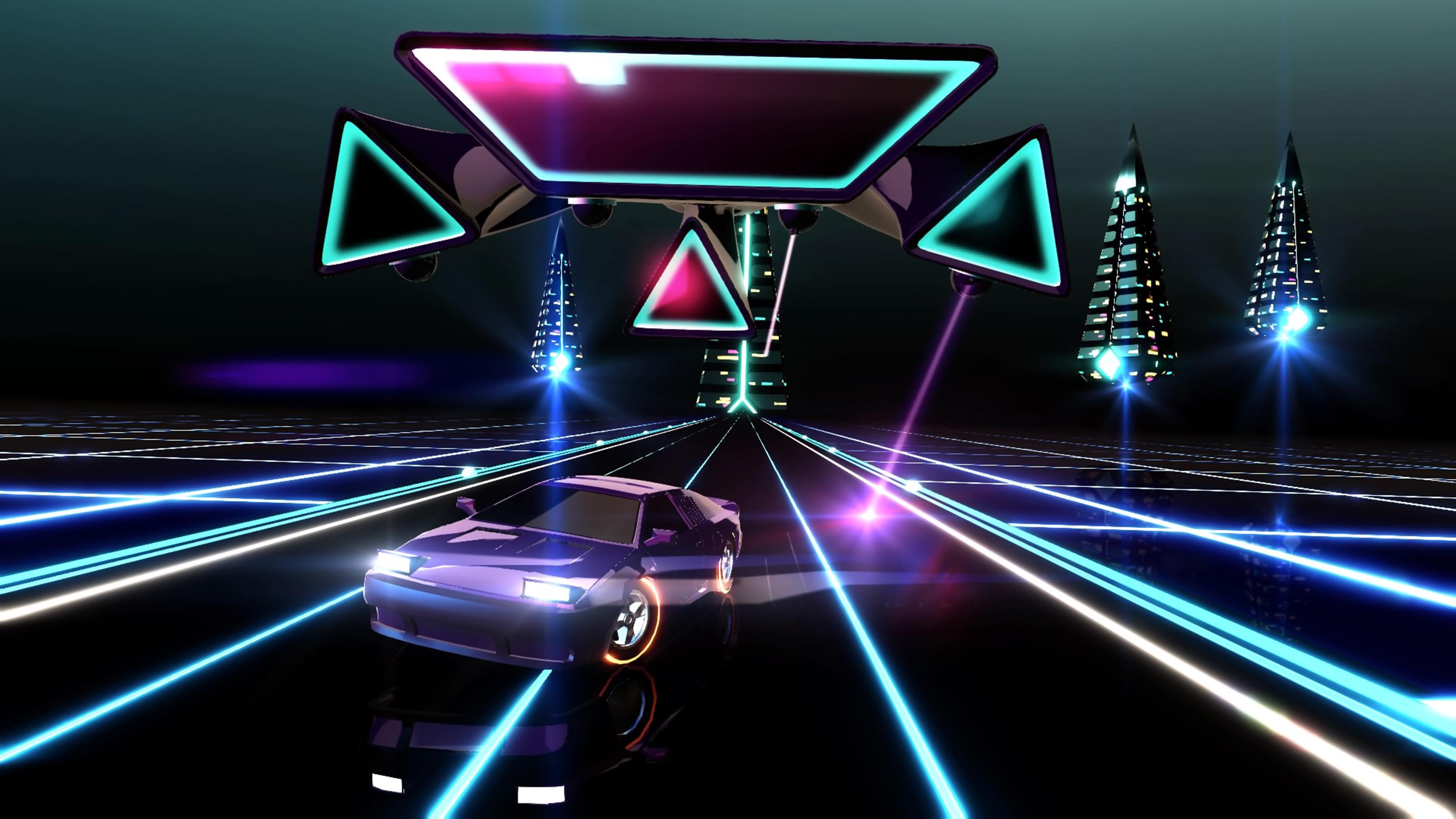 Скриншот №7 к Neon Drive