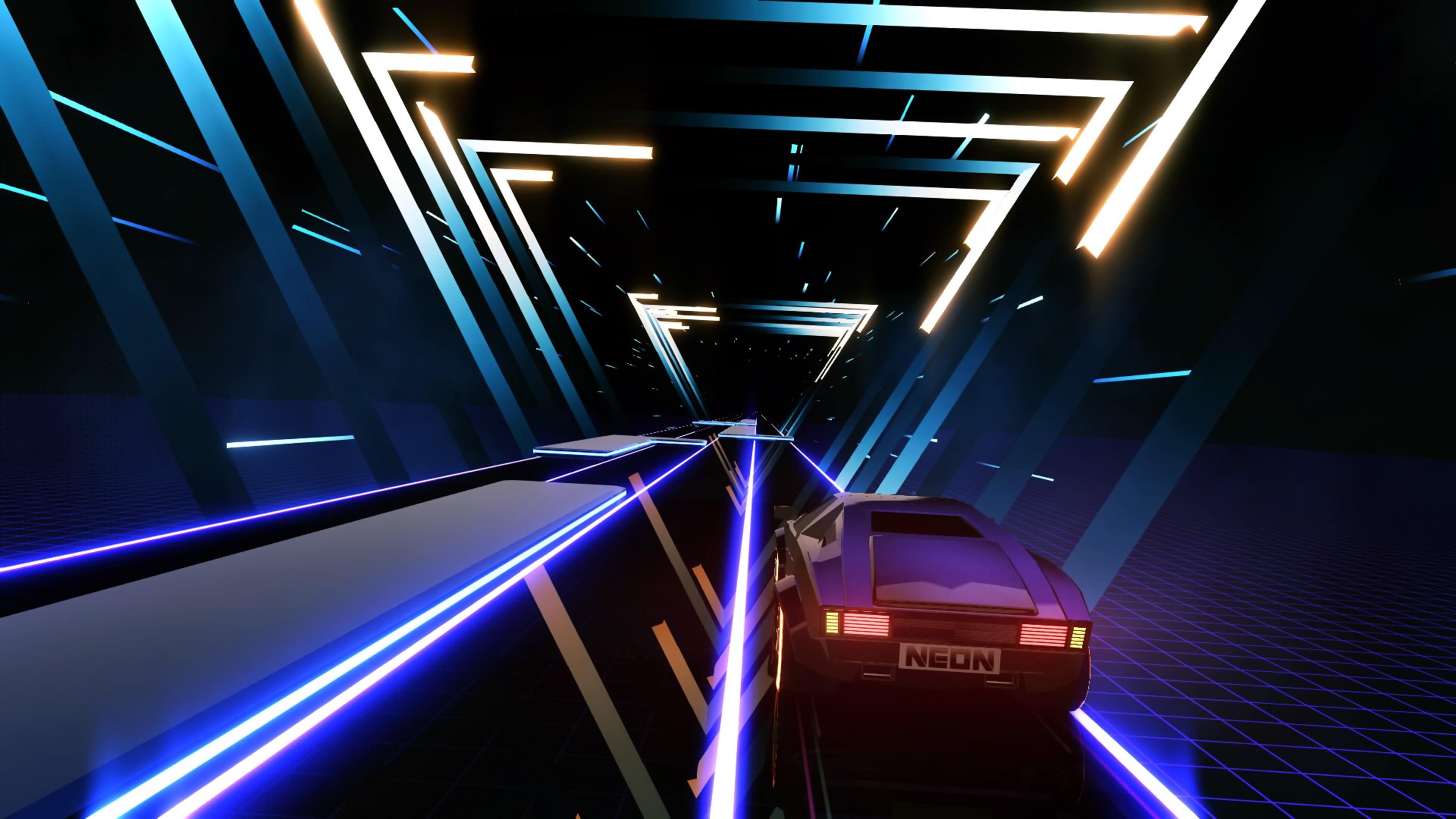Скриншот №3 к Neon Drive